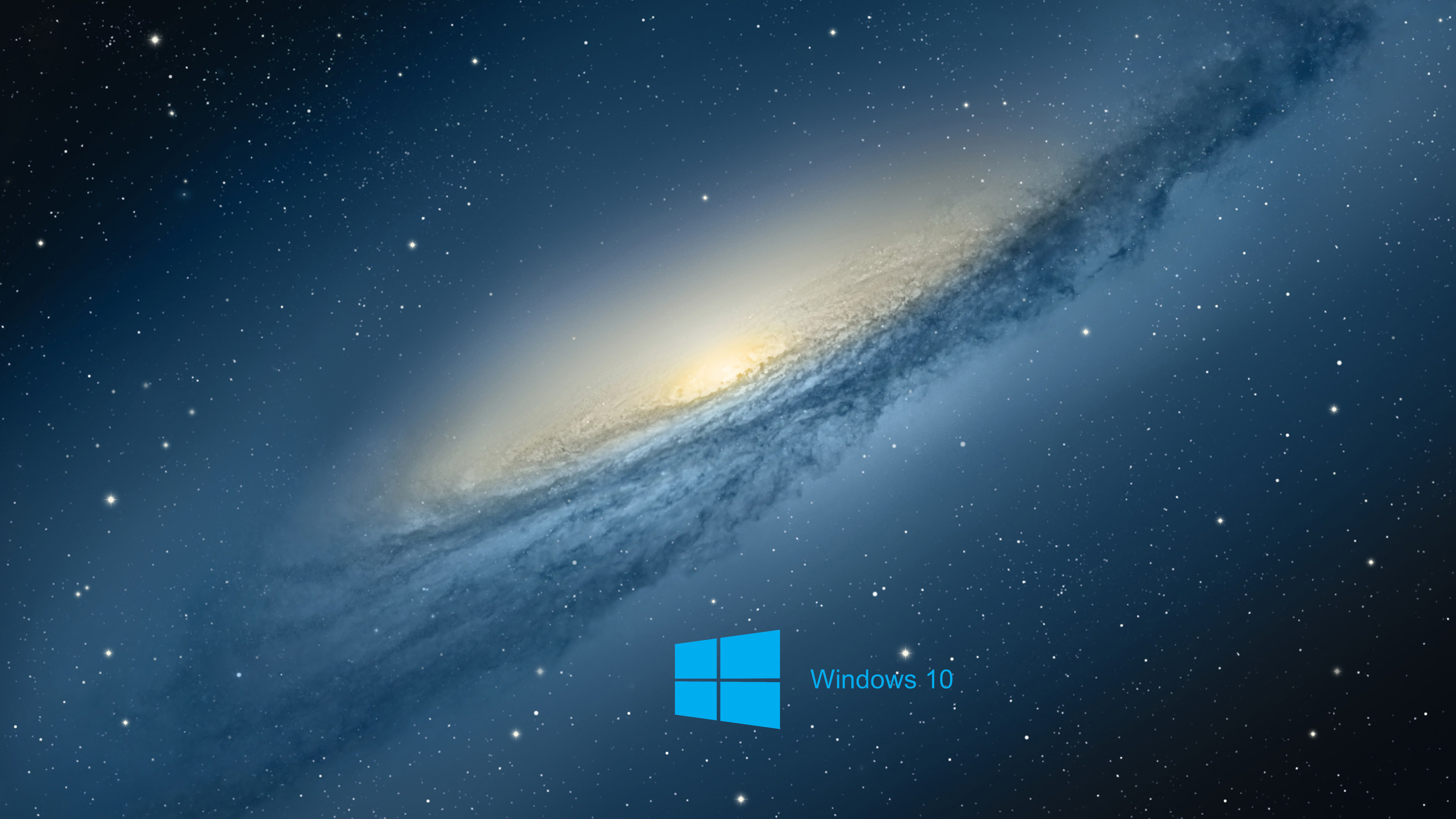 3840x2160 Windows 10 Desktop Background with scientific space planet galaxy .