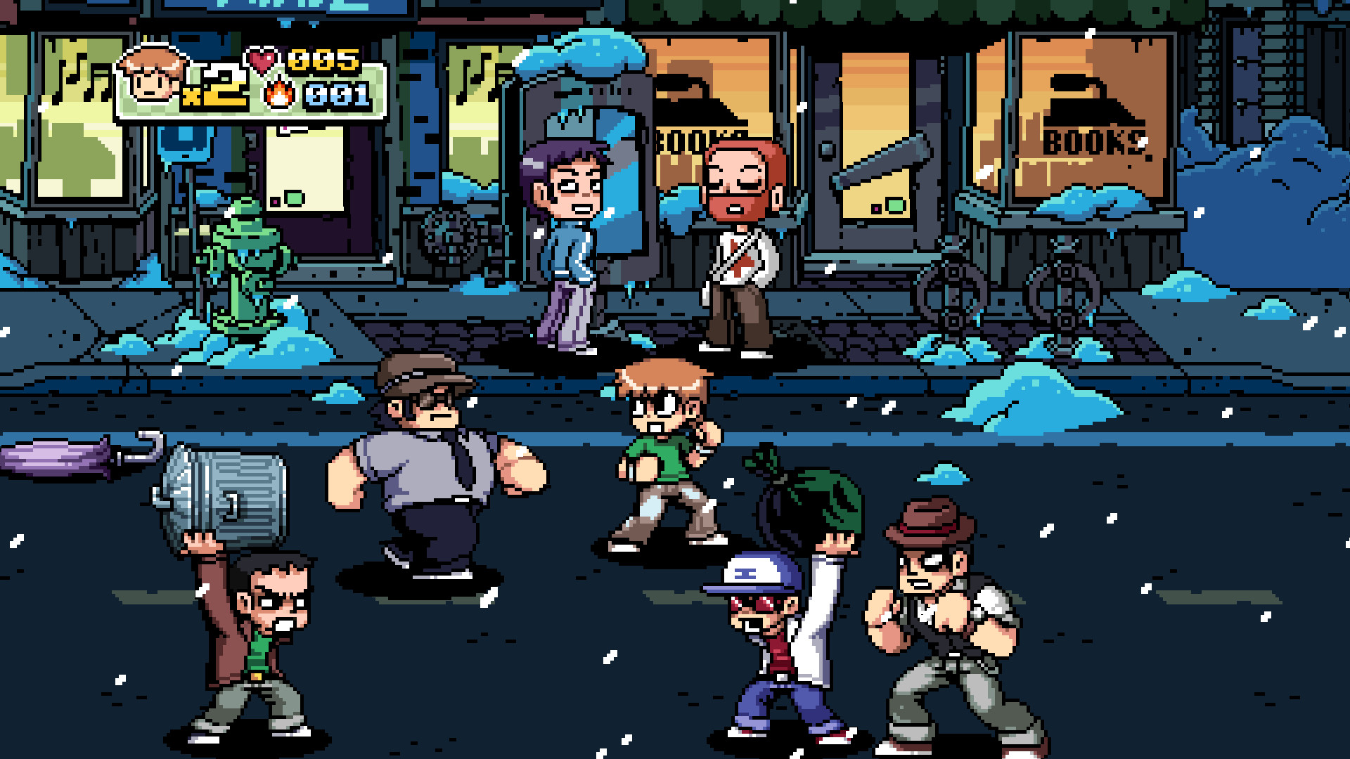 1920x1080 Scott Pilgrim vs. the World: The Game