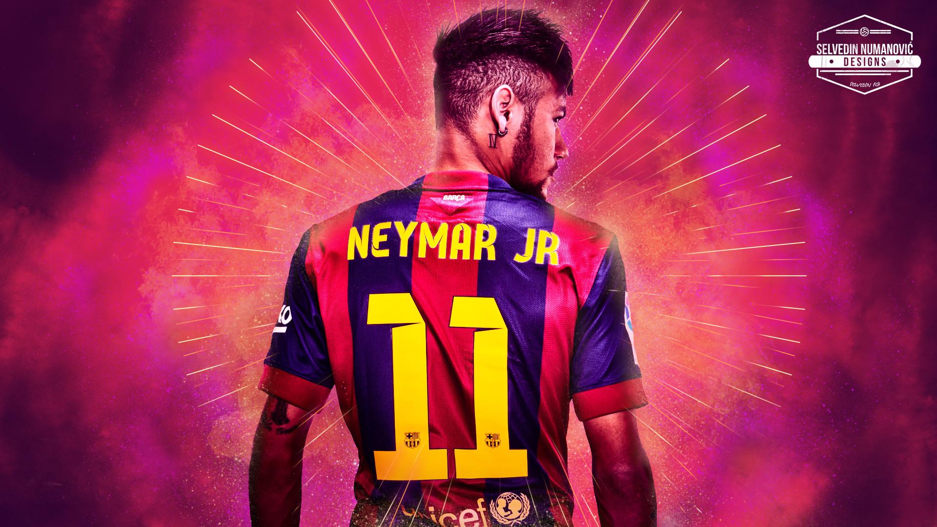 1920x1080 Beautiful Lionel Messi Vs Neymar Wallpaper FC Barcelona HD 2017 JDY7