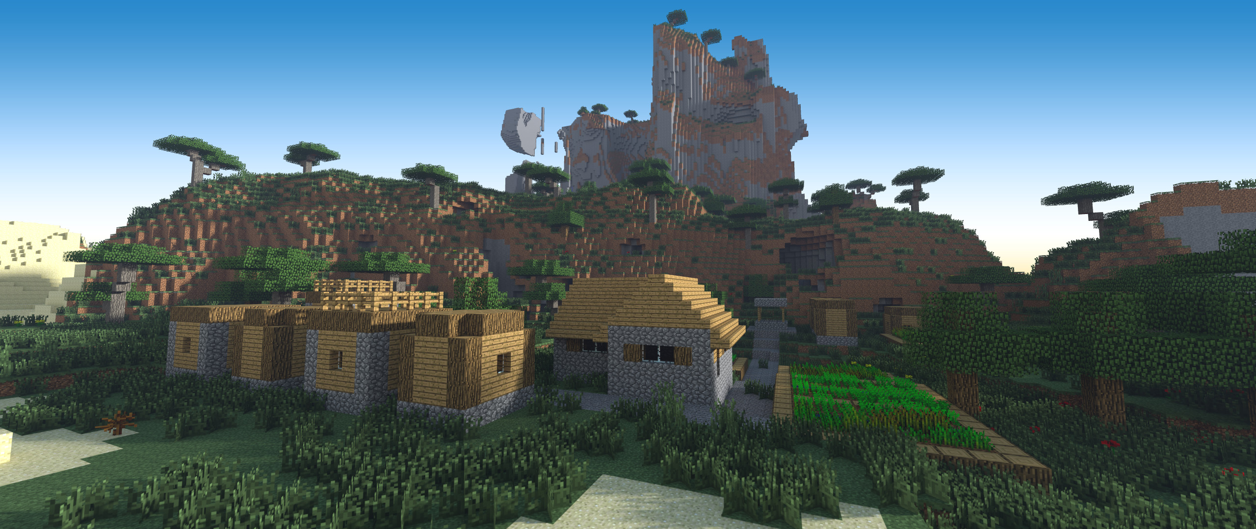 2560x1080 ... Minecraft Wallpapers New ...