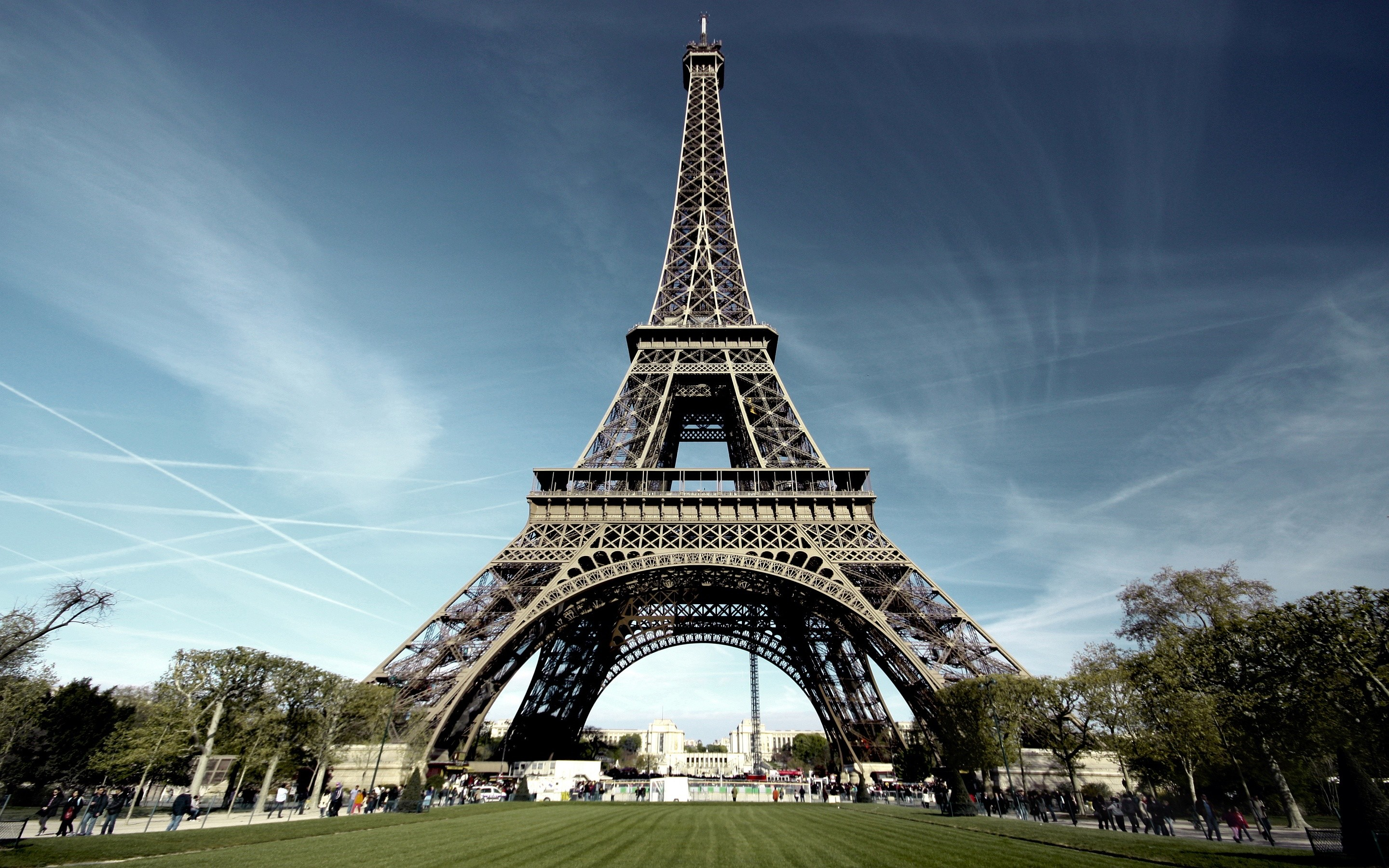 2880x1800 Eiffel Tower Architecture HD Wide Wallpaper for Widescreen (3 Wallpapers)