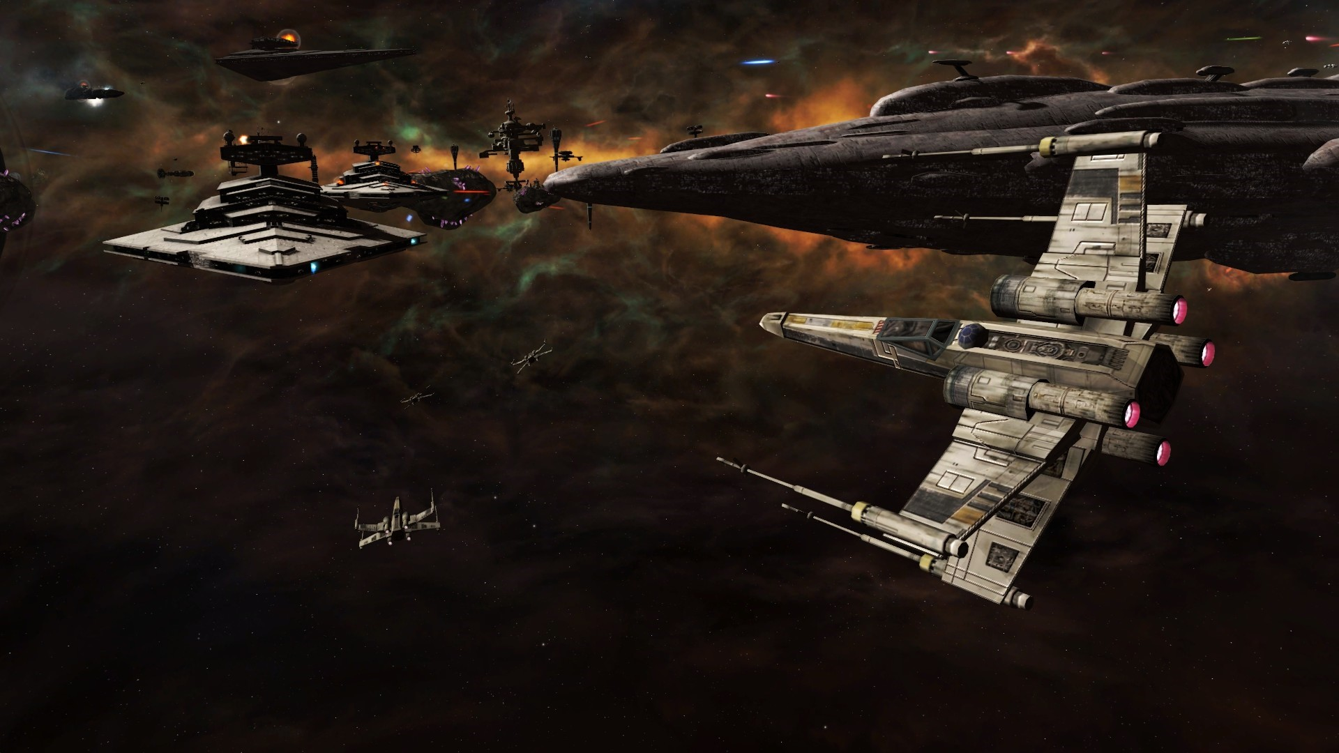 1920x1080 Force Awakens X Wing Wallpaper 1920×1080