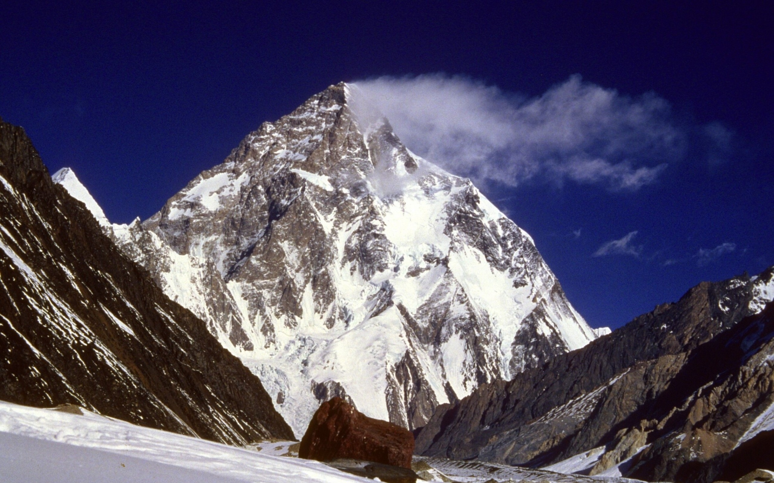 2560x1600 Mount Everest, Ice, Mist, Nature, Landscape, Photography Wallpapers HD / Desktop and Mobile Backgrounds