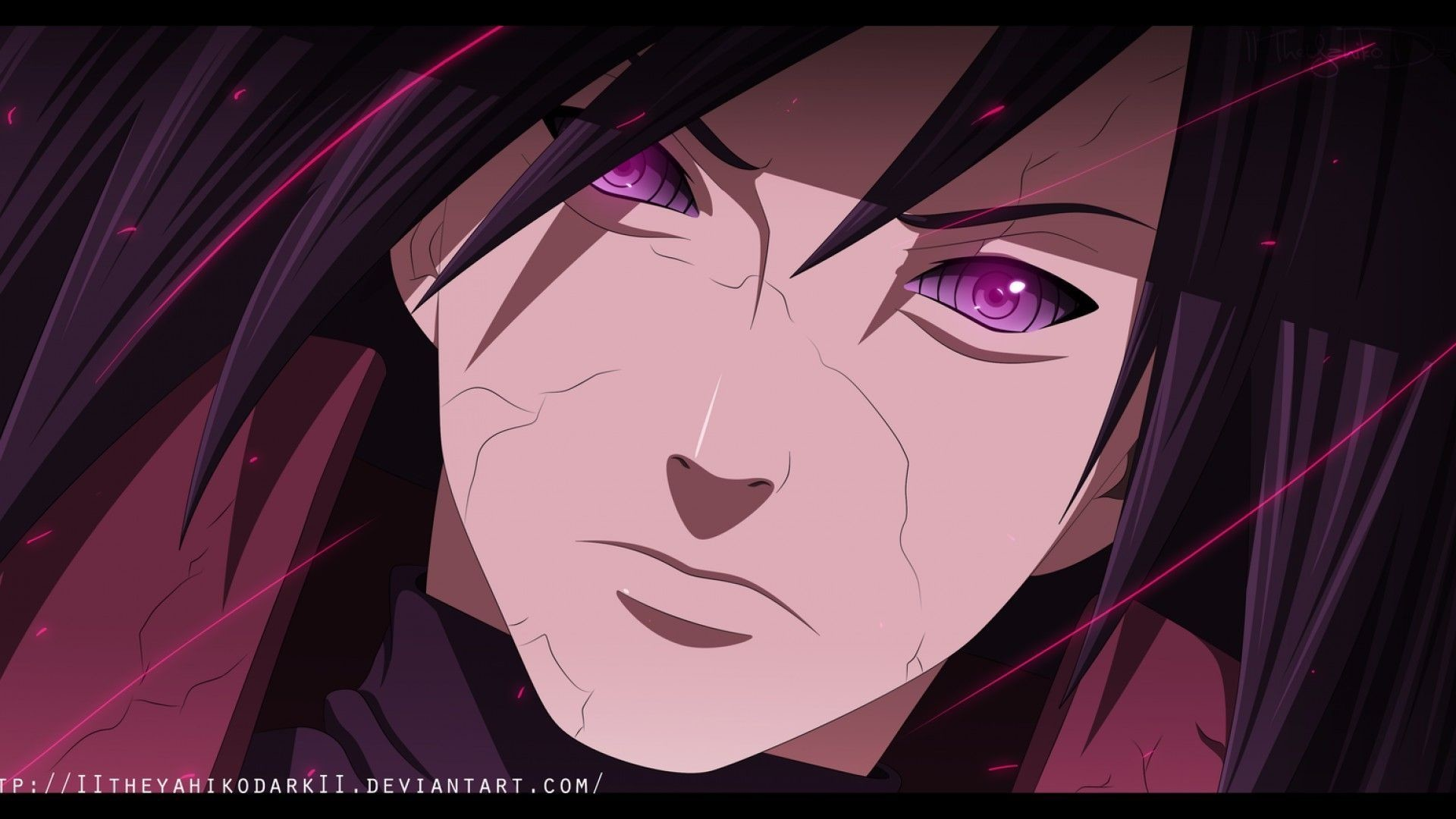 1920x1080  Madara Sharingan Wallpapers Wallpaper