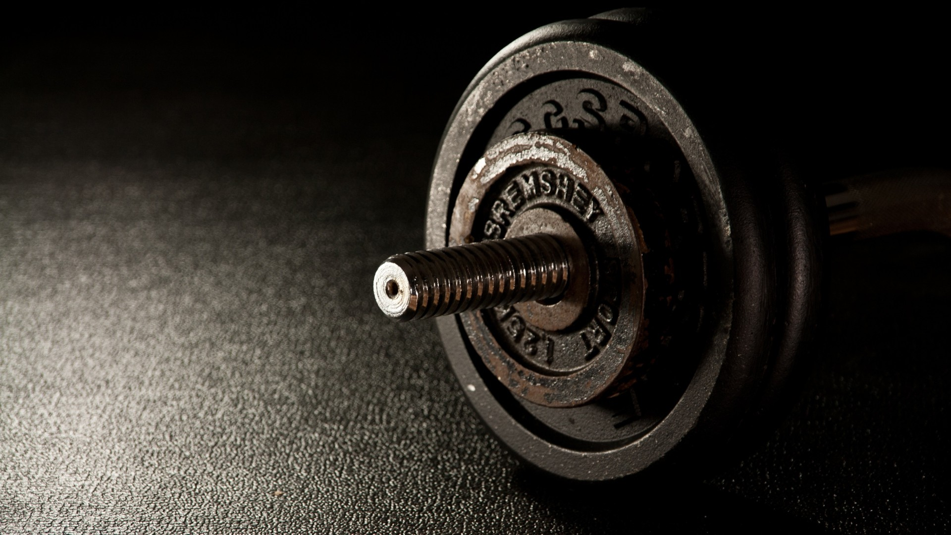 1920x1080 Preview wallpaper dumbbells, fitness, gym 1920x1080