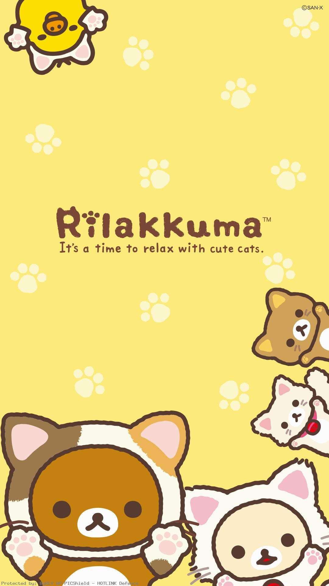 1080x1920 Rilakkuma-Cat-Series-Phone-%E2%80%A2-