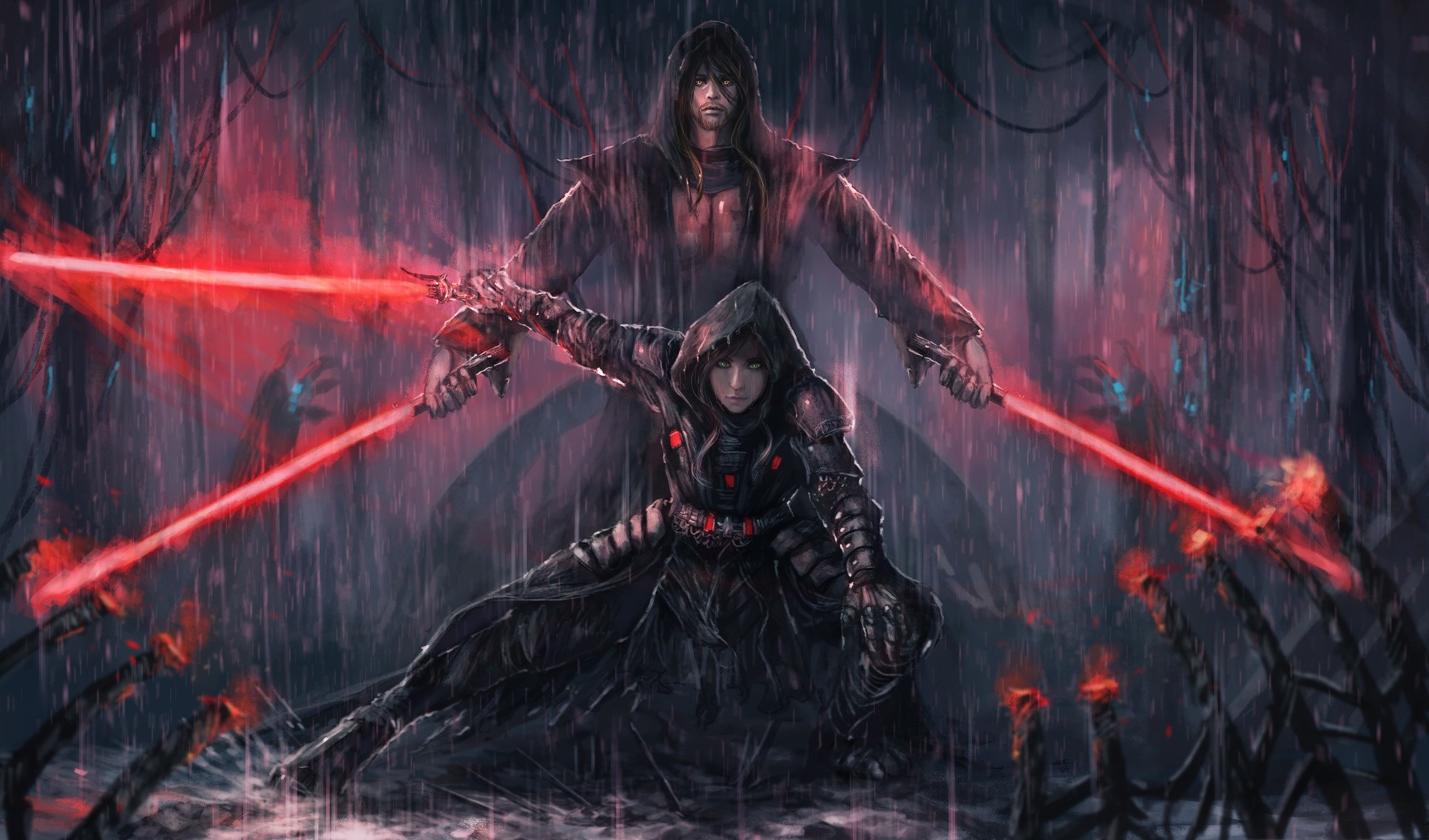 2000x1176 Lightsaber Sith Star Wars · HD Wallpaper | Background Image ID:771099
