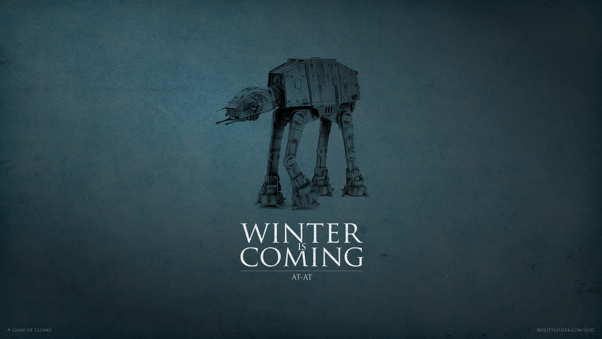 1920x1080 Winter is Coming: AT-AT