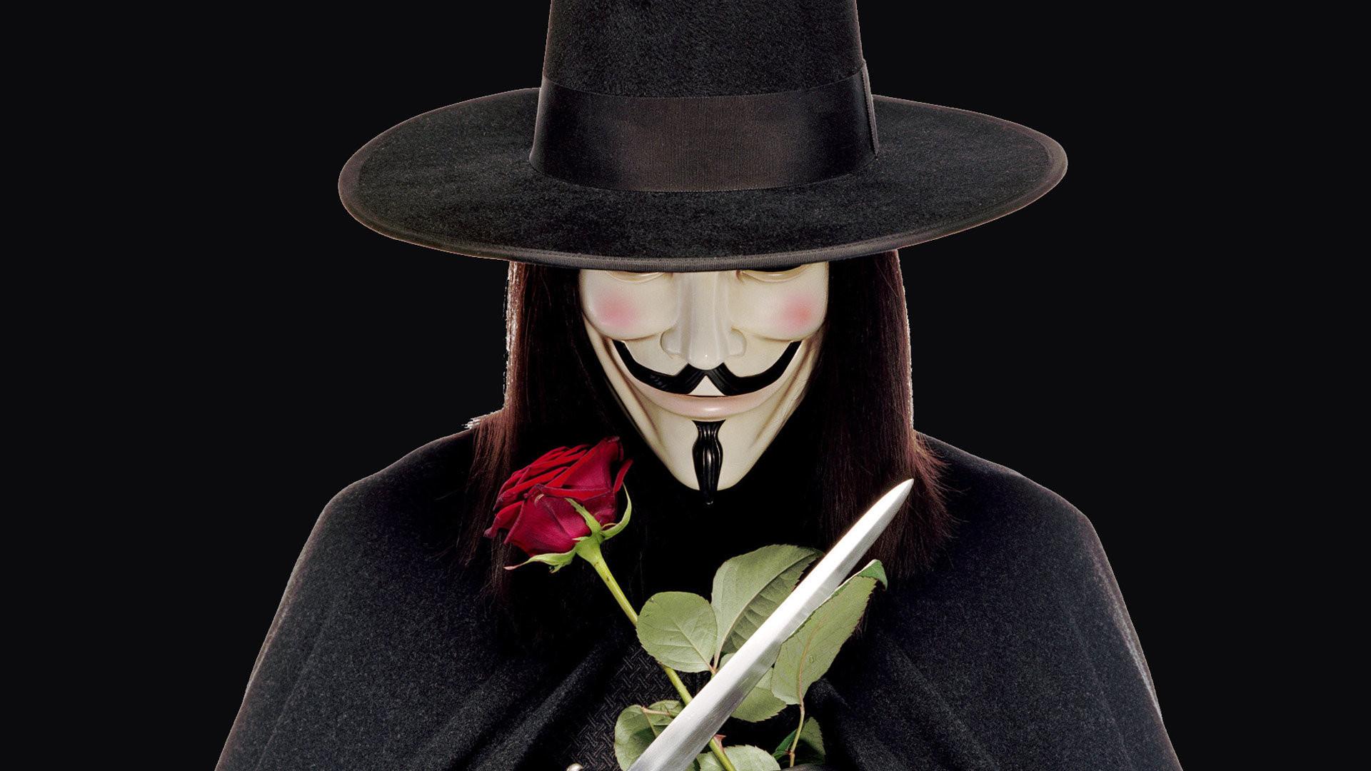 V for Vendetta Wallpap...V For Vendetta Movie Wallpaper