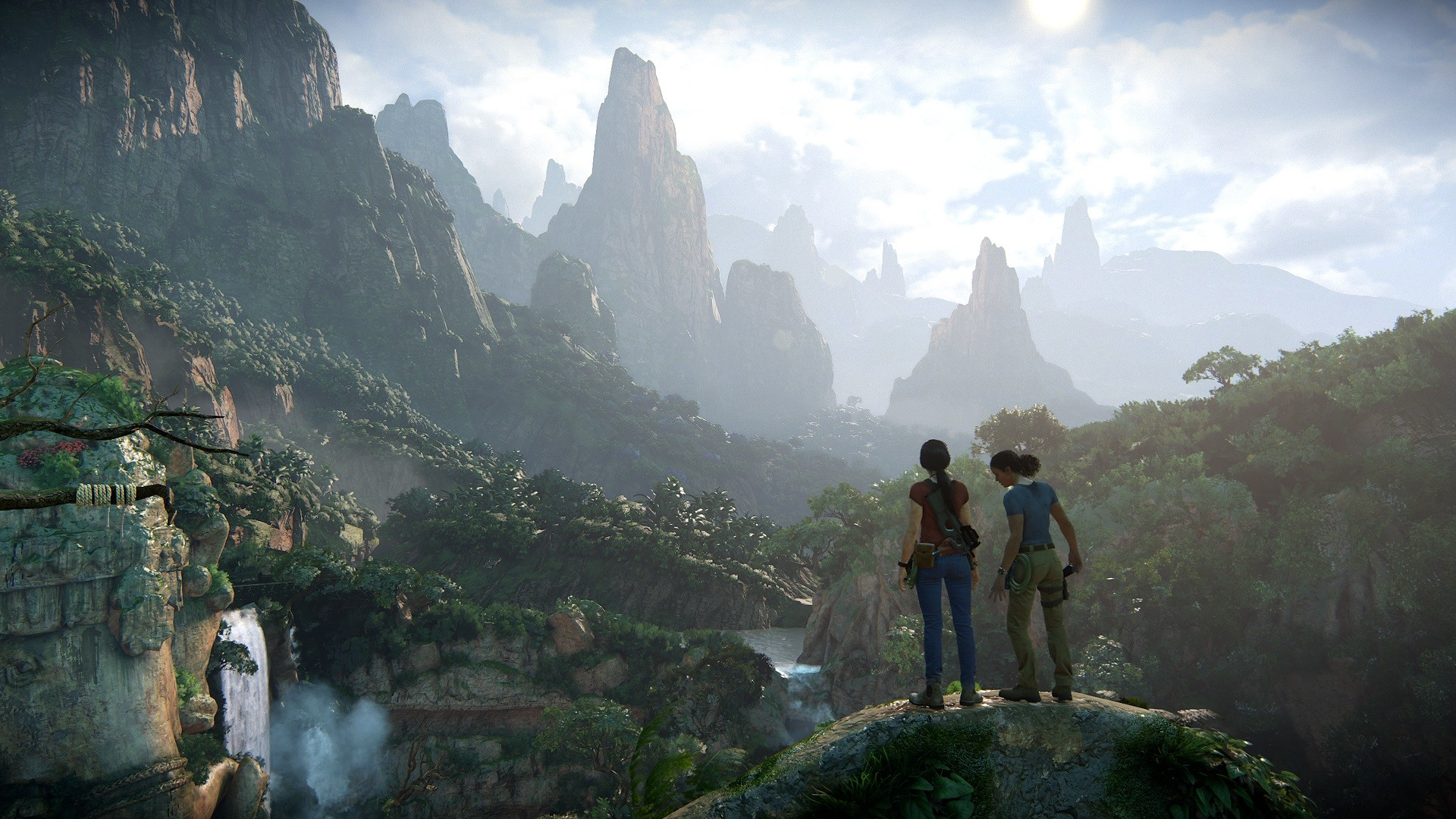 1920x1080 Free Uncharted The Lost Legacy Wallpaper Download