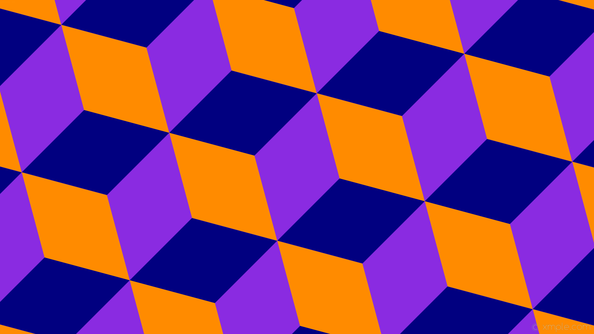 Low Poly Wallpaper Orange Purple By Bluhurr