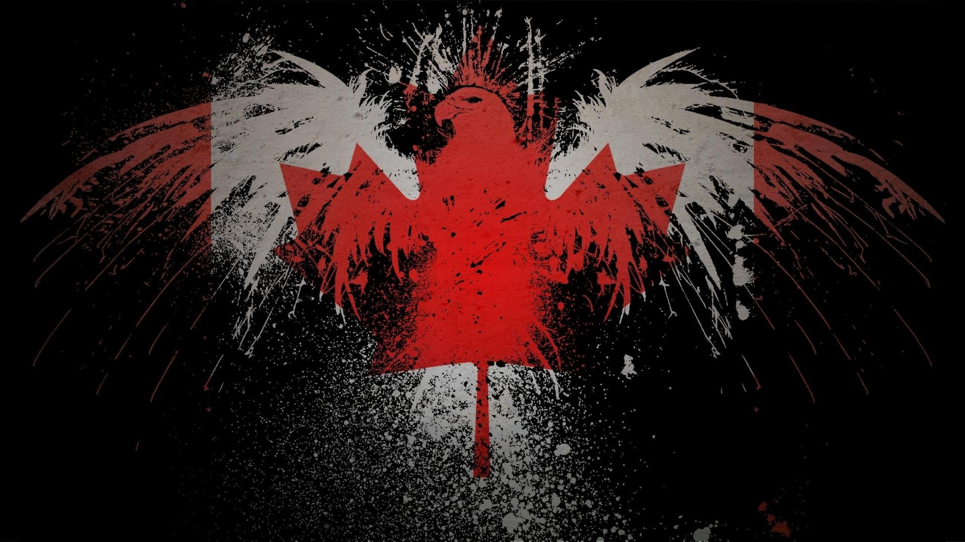 1920x1080 HD Wallpaper - Canada Flag by bladerahul on DeviantArt