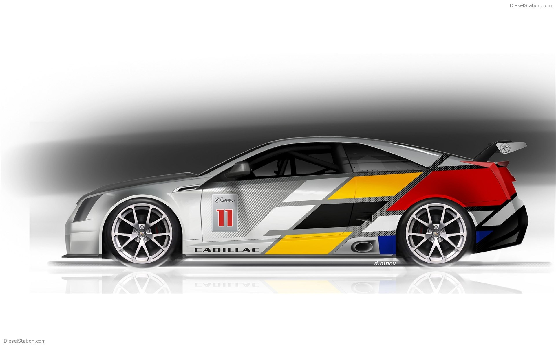 1920x1200 Cadillac CTS V Coupe Race Car