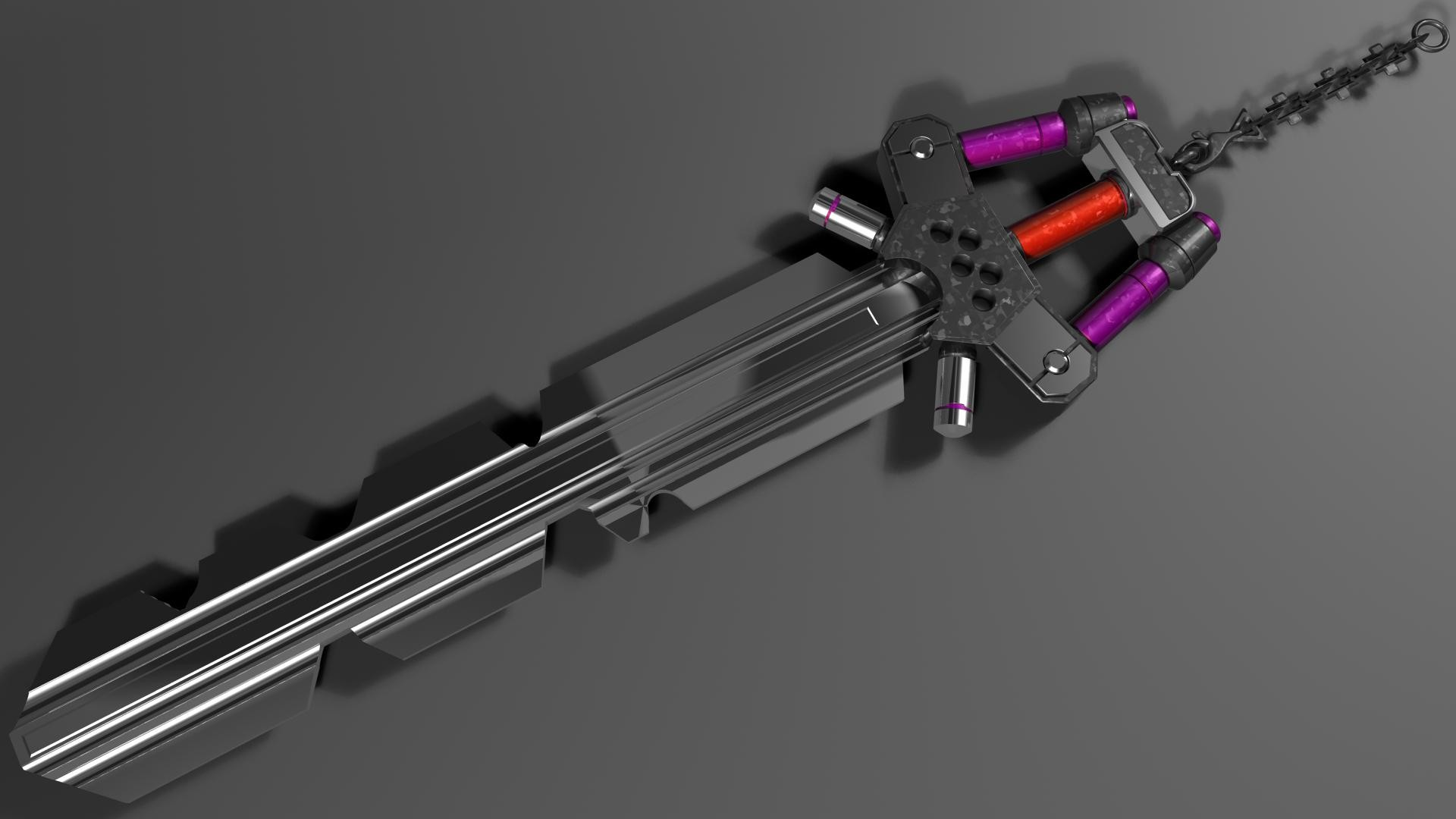 1920x1080 fenrir keyblade by angeldad83 fenrir keyblade by angeldad83