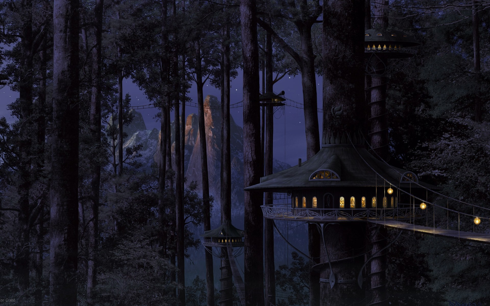 Anime Forest Background 69 Images