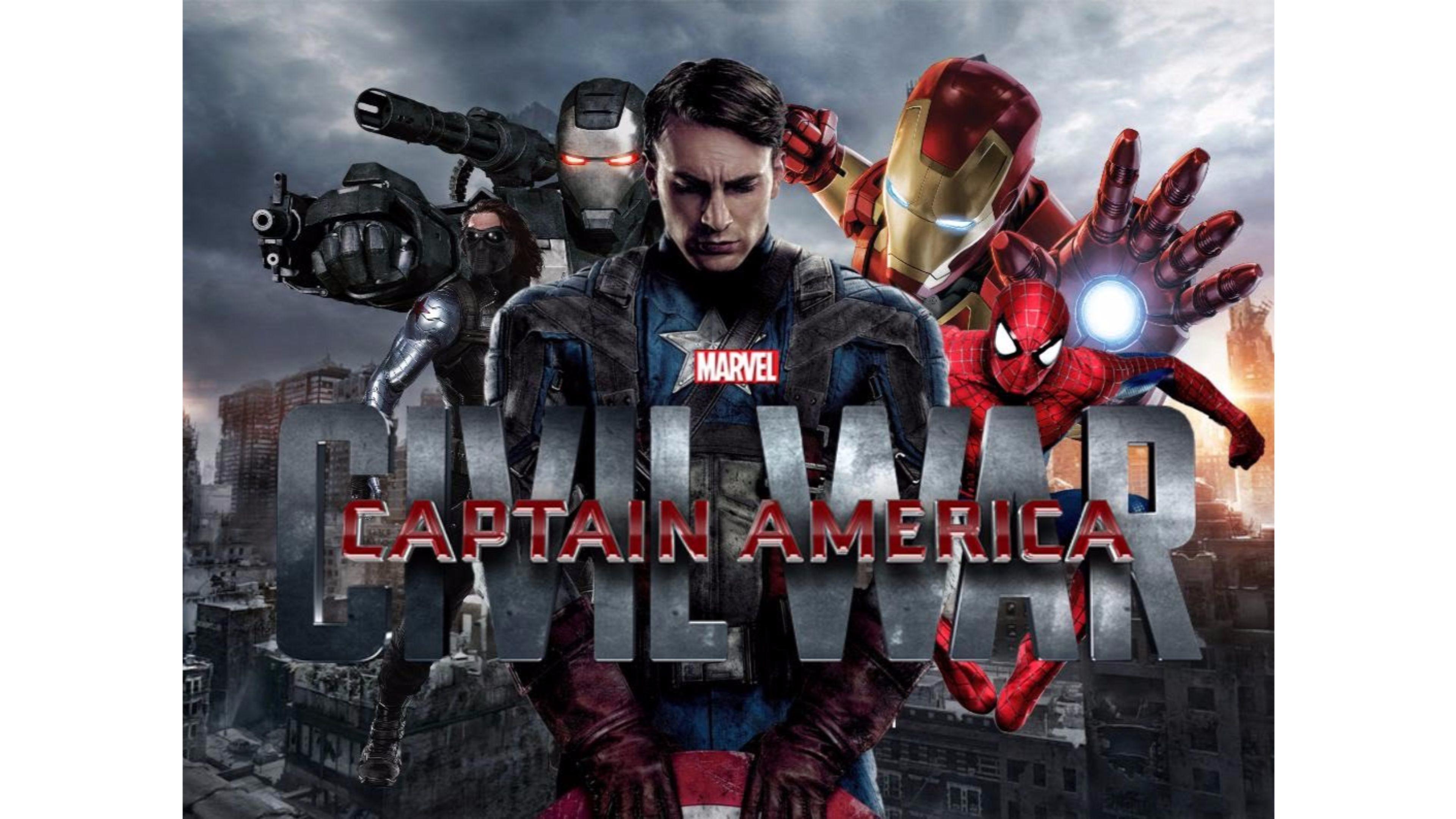 Captain America Civil War Wallpaper 4k: Captain America Civil War Desktop Wallpaper (77+ Images