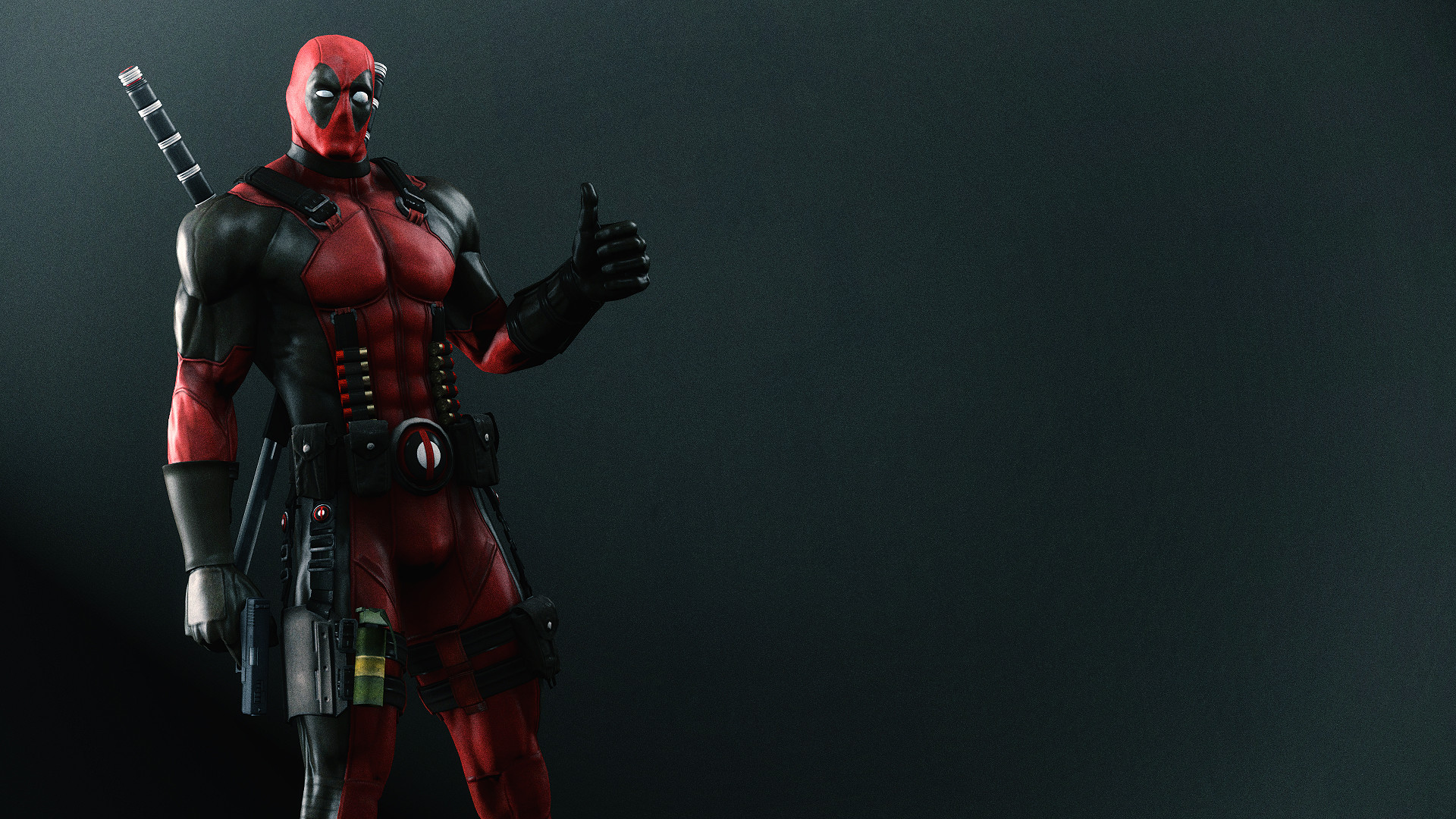 1920x1080 Deadpool Wallpaper by AngryRabbitGmoD.deviantart.com on @deviantART