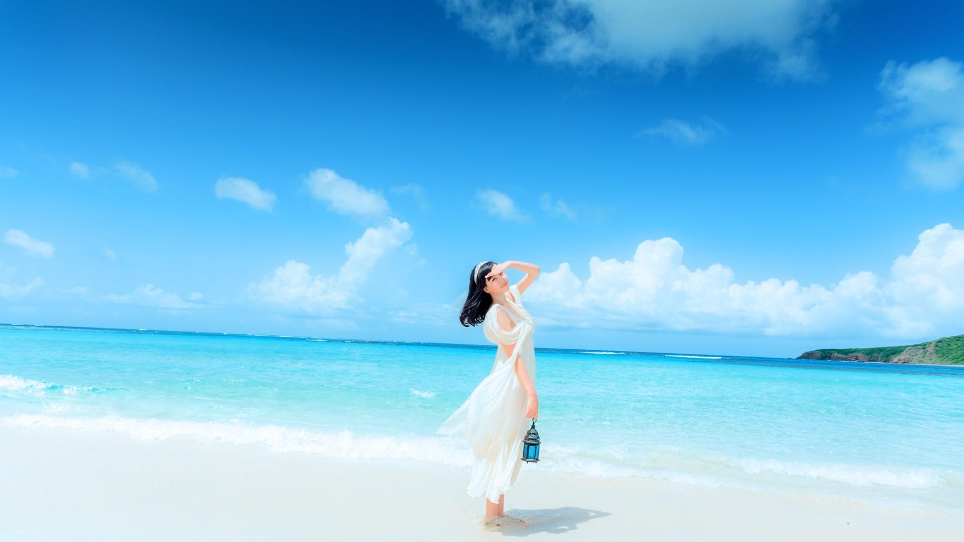 Hd beach desktop wallpaper 66 images - Beach girl wallpaper hd ...