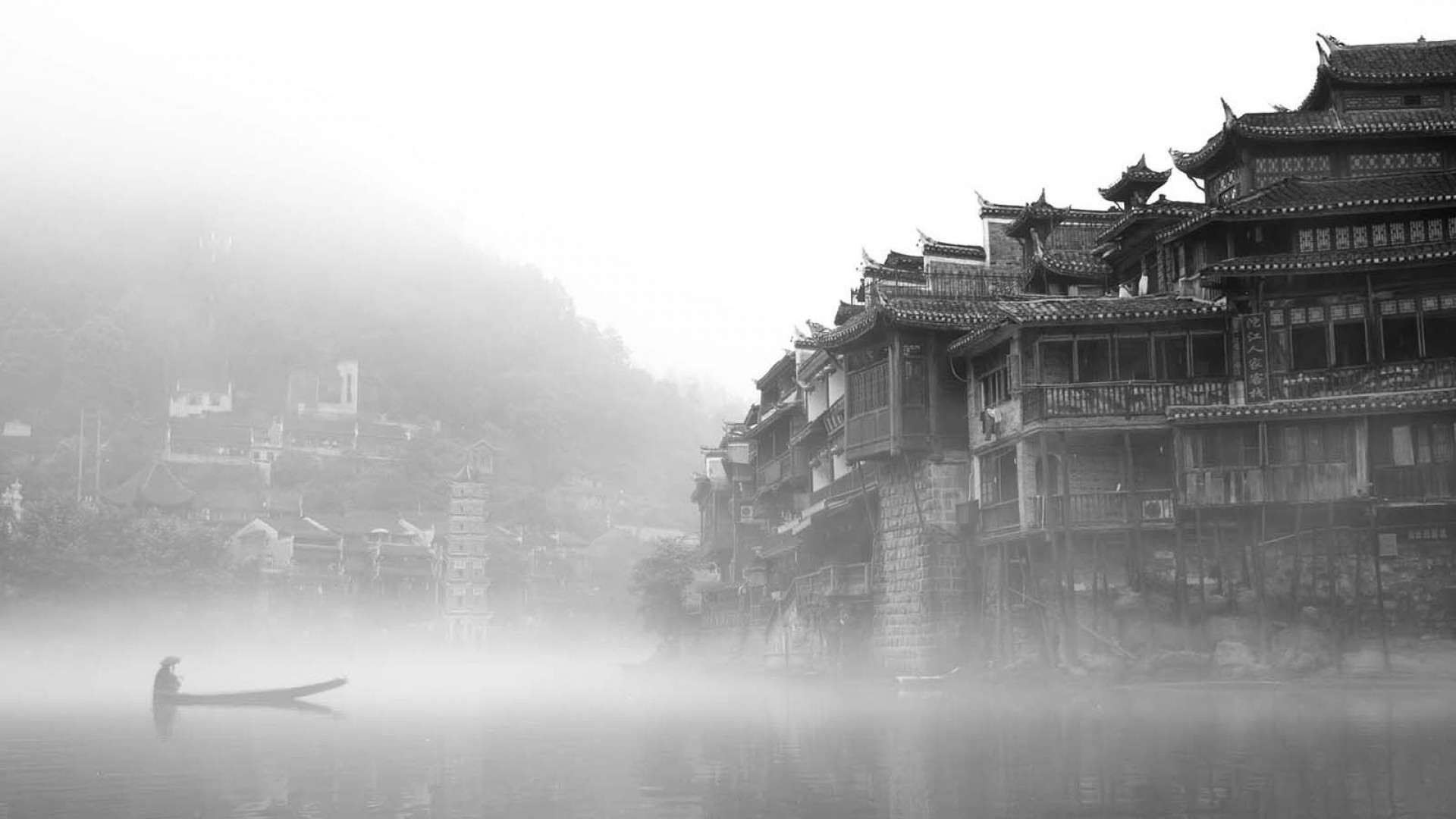 1920x1080 Ancient Chinese town `✿.¸¸.Ƹ✿Ʒ.¸¸.