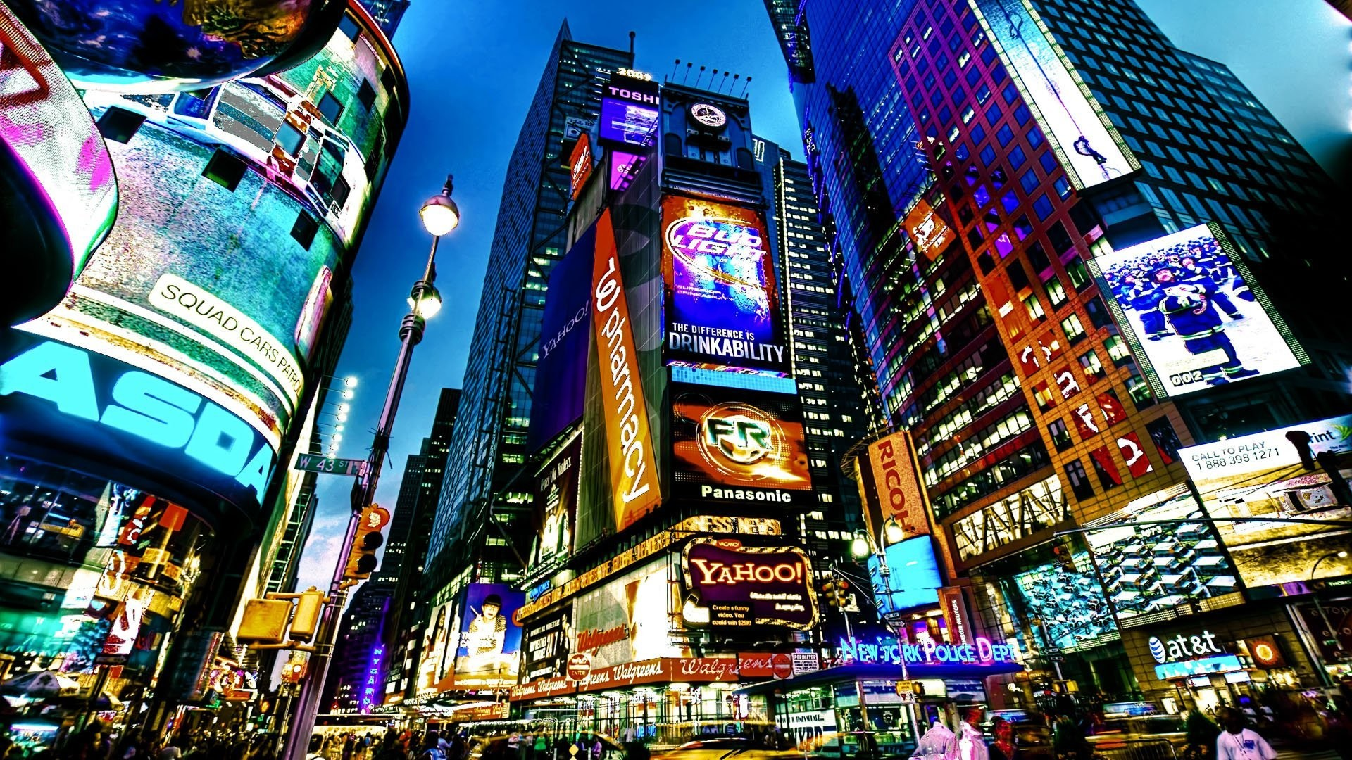 Times square wallpaper 58 images - Times square background ...