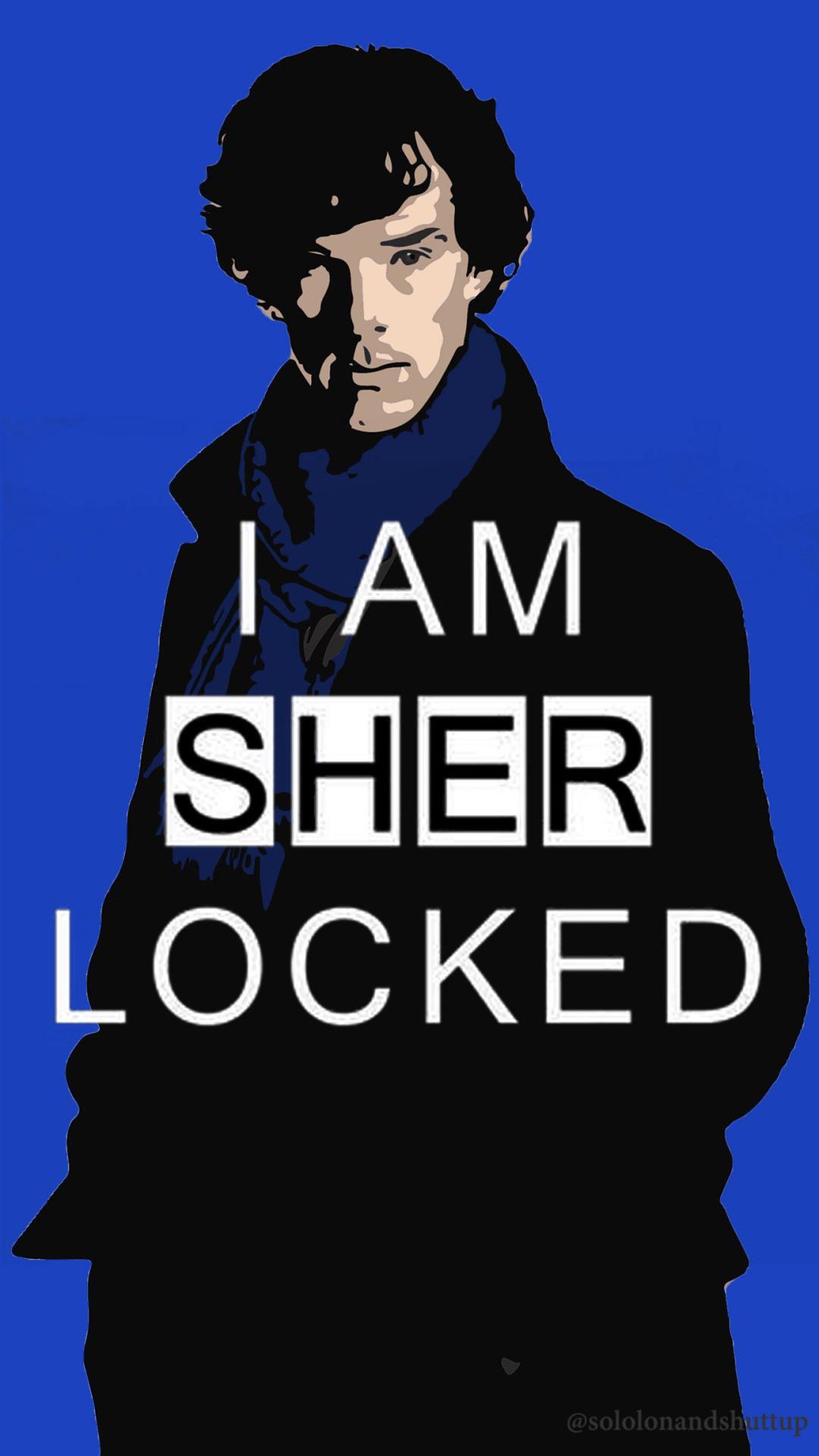 1200x1920 I Am Sherlocked IPhoneWallpaper