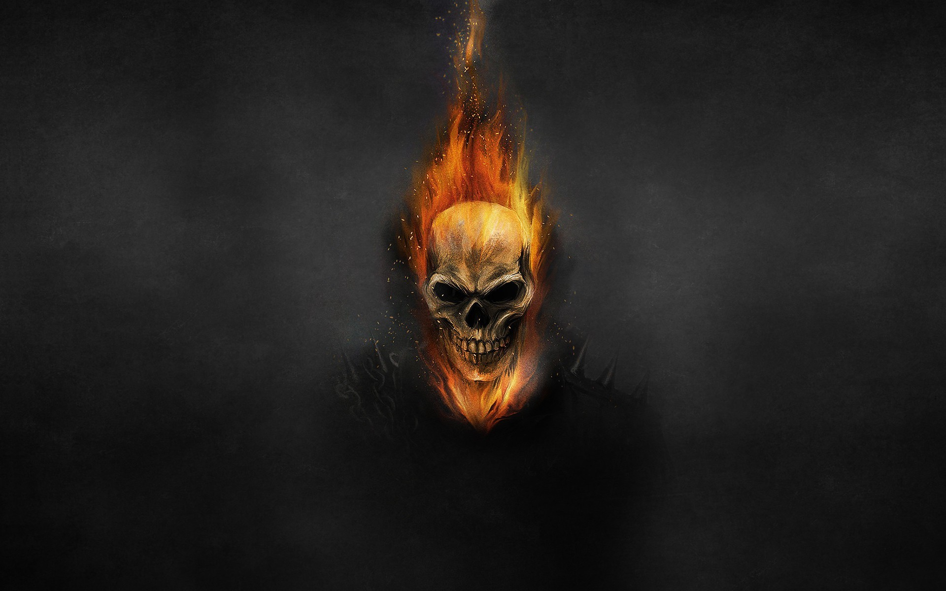 1920x1200 Ghost Rider, skeleton wallpaper thumb