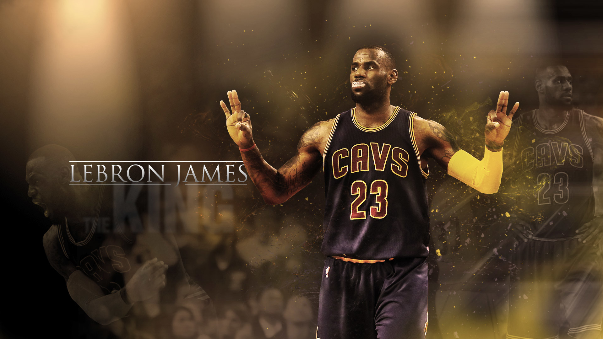 1920x1080  LeBron James Cavaliers 2016  Wallpaper · Download · HD  ...