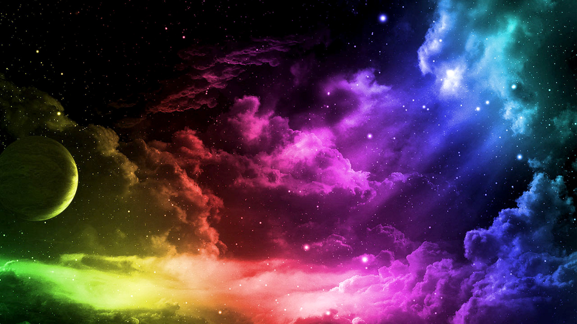 1920x1080 Colorful Space Desktop Computer Wallpapers