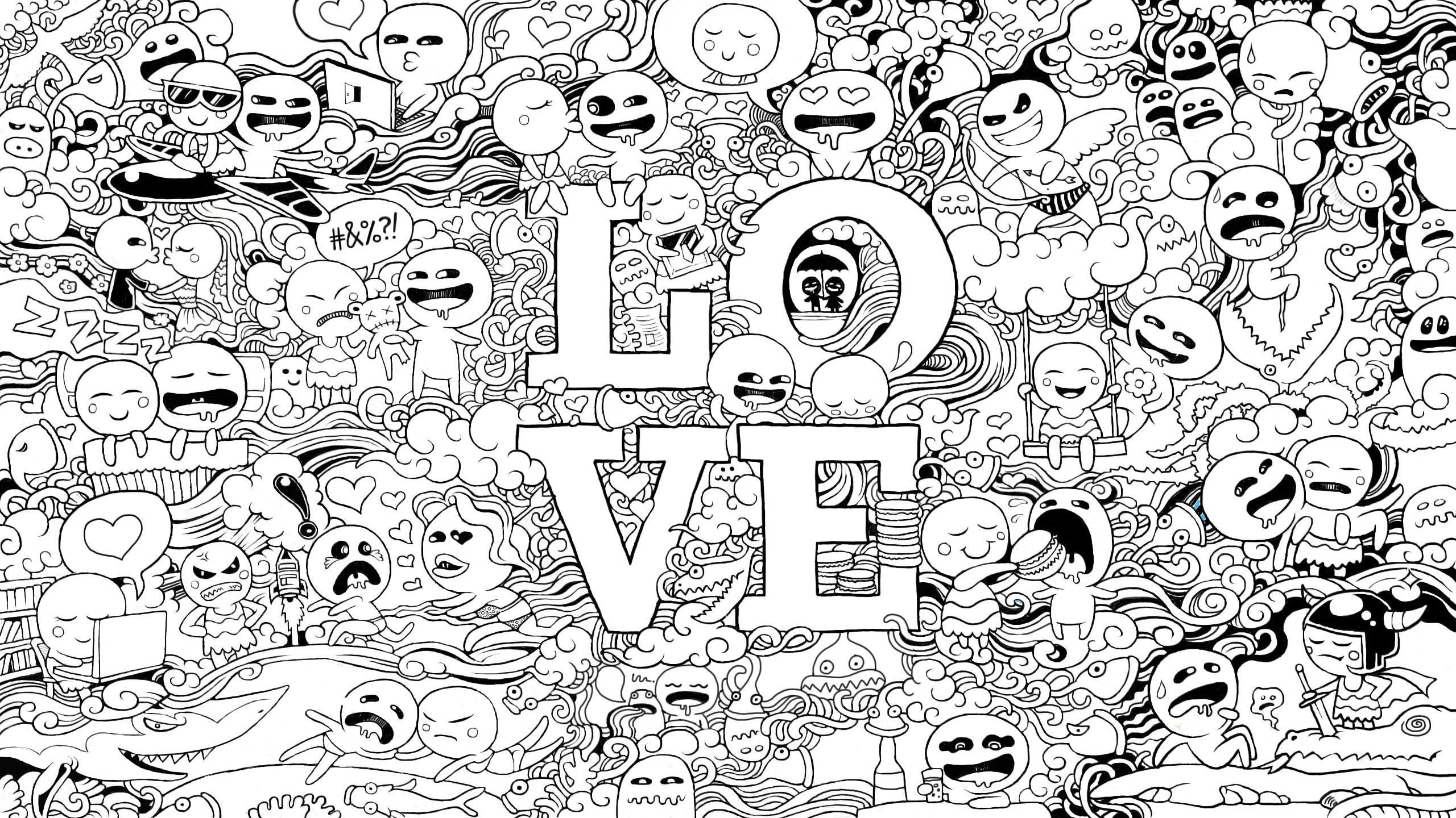 Doodle Art Wallpapers (52+ images)
