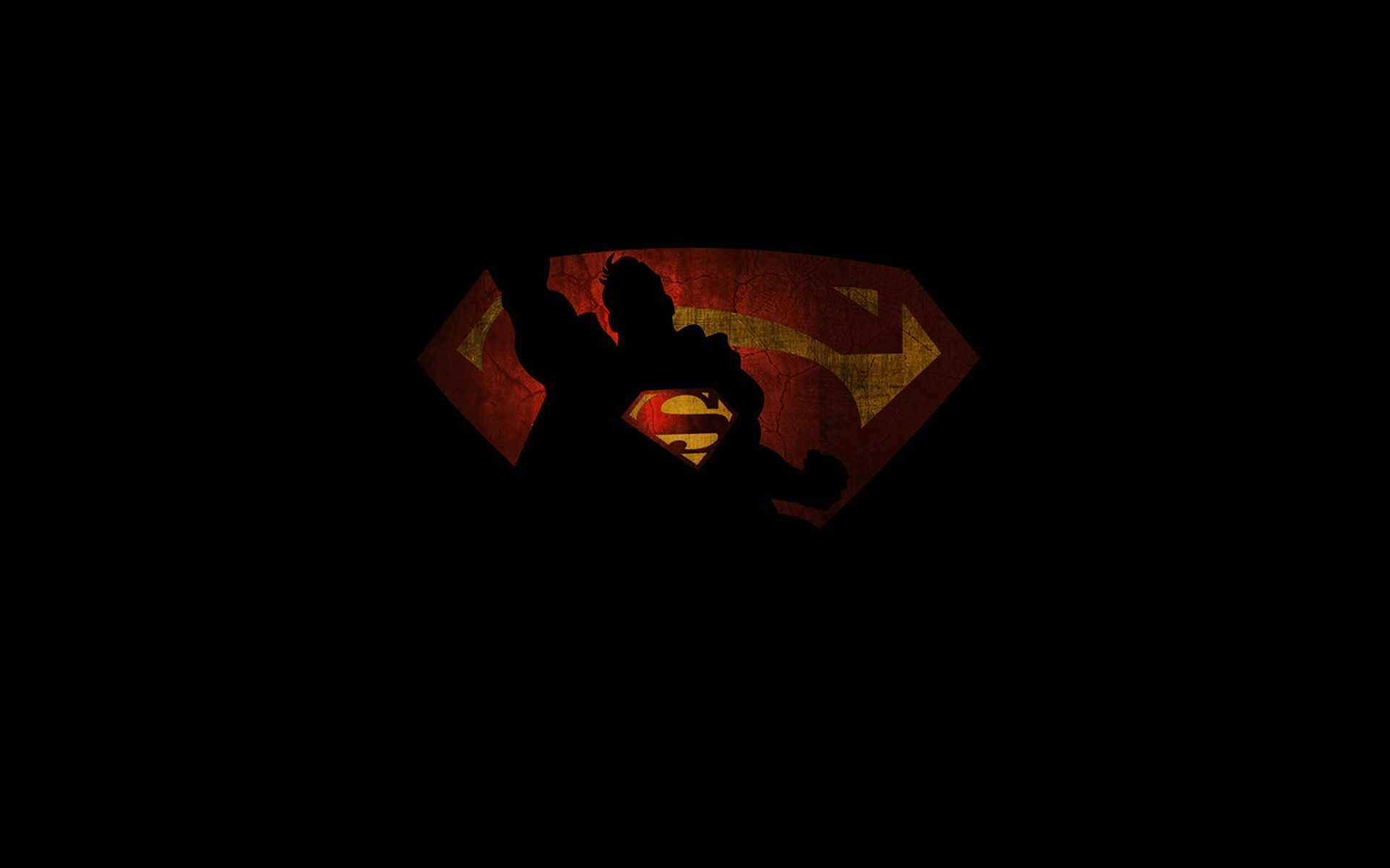 1920x1200 Superman Shadow Wallpaper