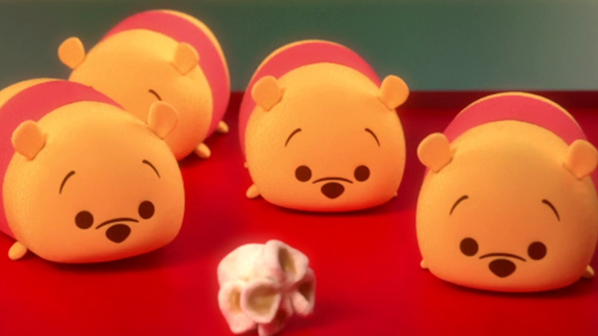 1920x1080 Hunny Popcorn | A Tsum Tsum short | Disney This is actually really cute  #animation