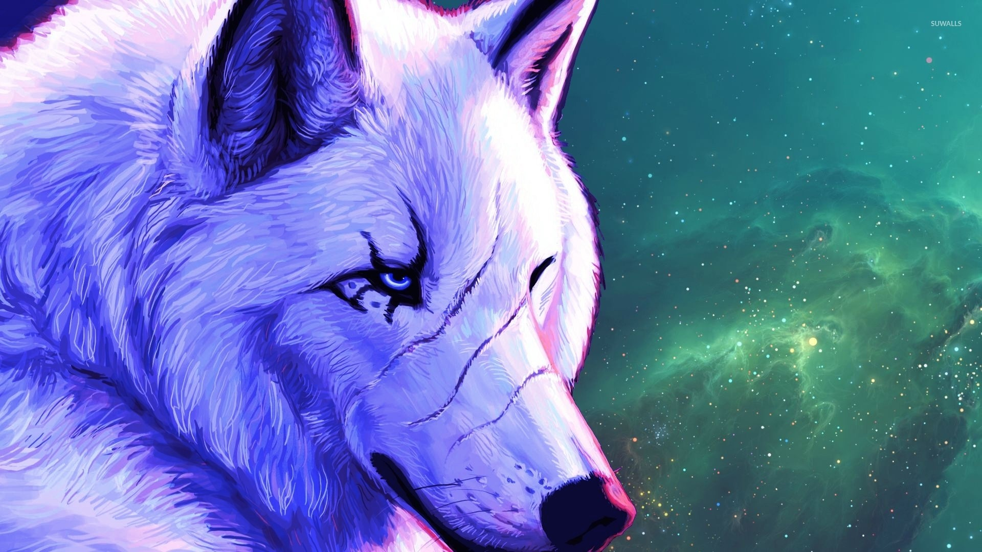 1920x1080 White alpha wolf wallpaper  jpg