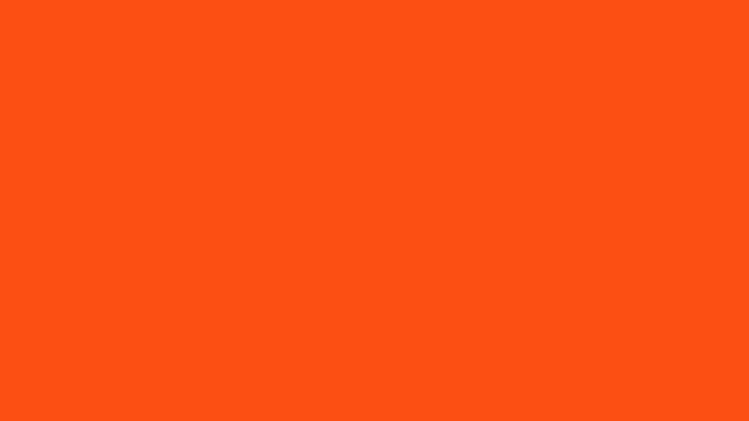2560x1440 Solid Orange Wallpaper 47197