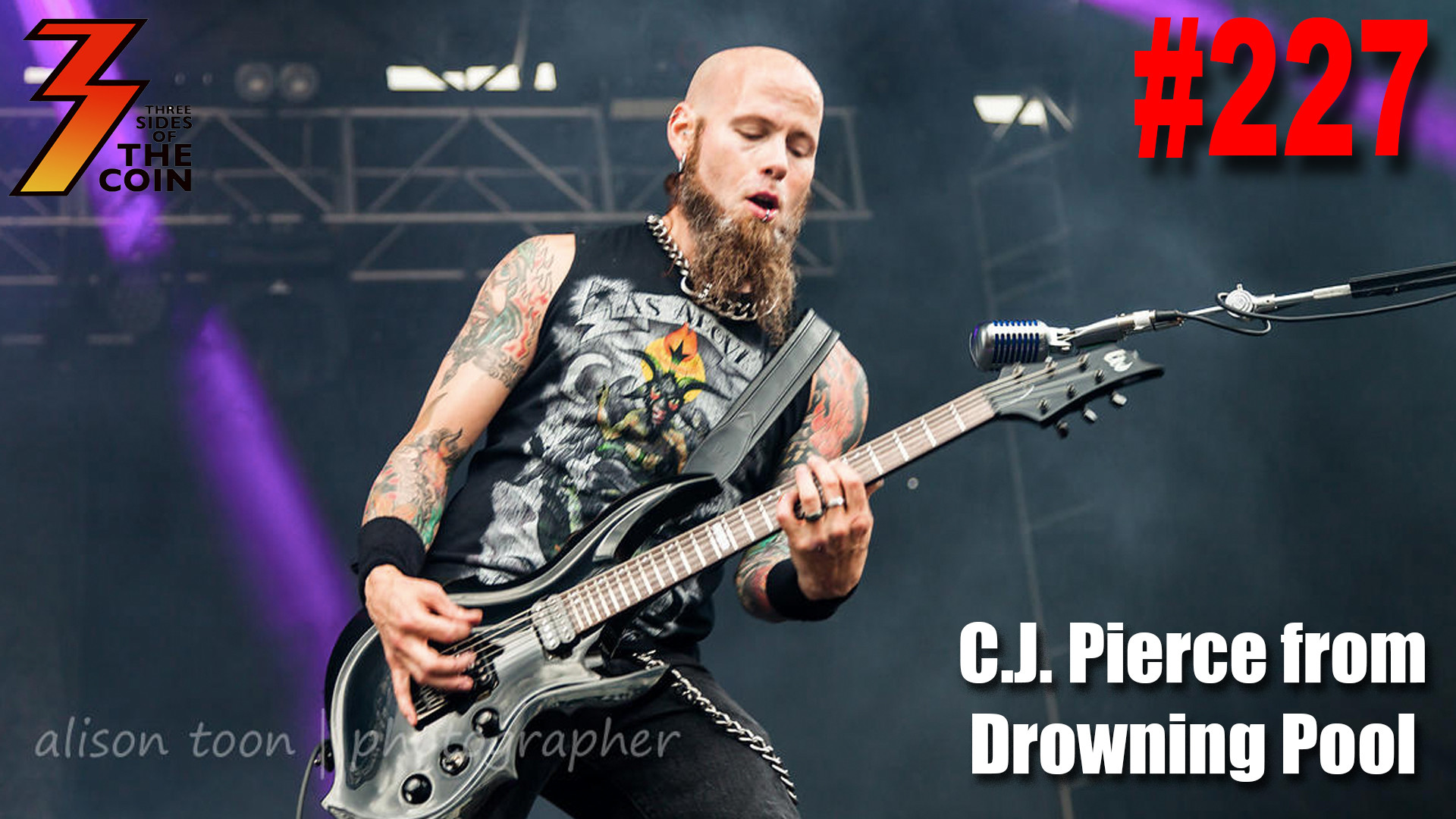 1920x1080 Ep. 227 C.J. Pierce from Drowning Pool Joins Us to Talk About His Love For  KISS | Three Sides of the Coin - A KISS Talk Show