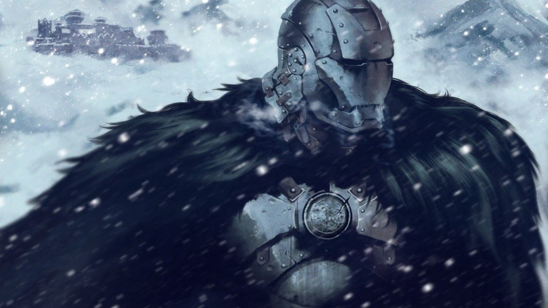 1920x1080 Game Of Thrones, Iron Man, Crossover, Snow, House Stark Wallpapers HD /  Desktop and Mobile Backgrounds
