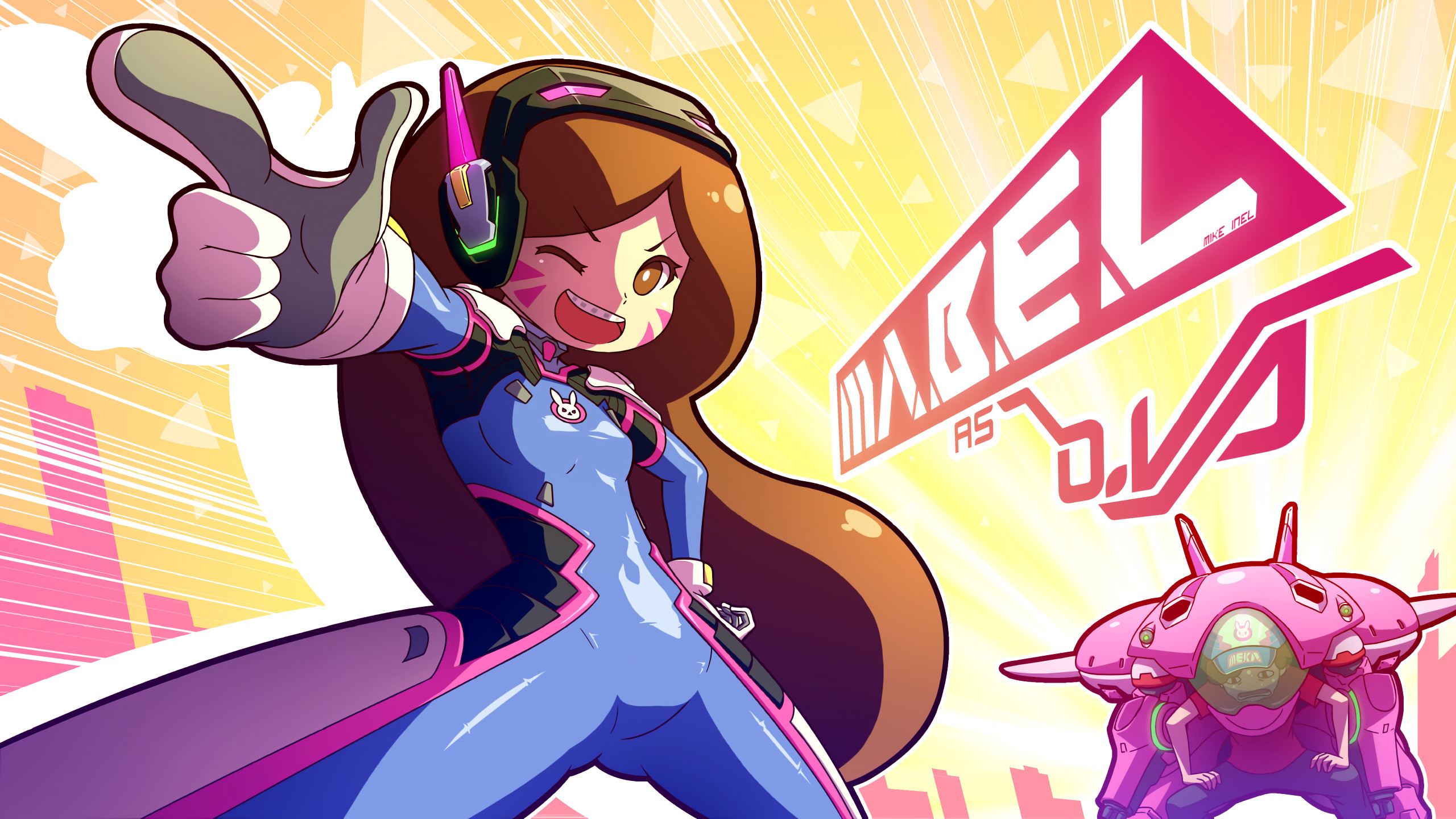 2560x1440 Video Game - Crossover Mabel Pines Stanley Pines Overwatch Gravity Falls  Wallpaper