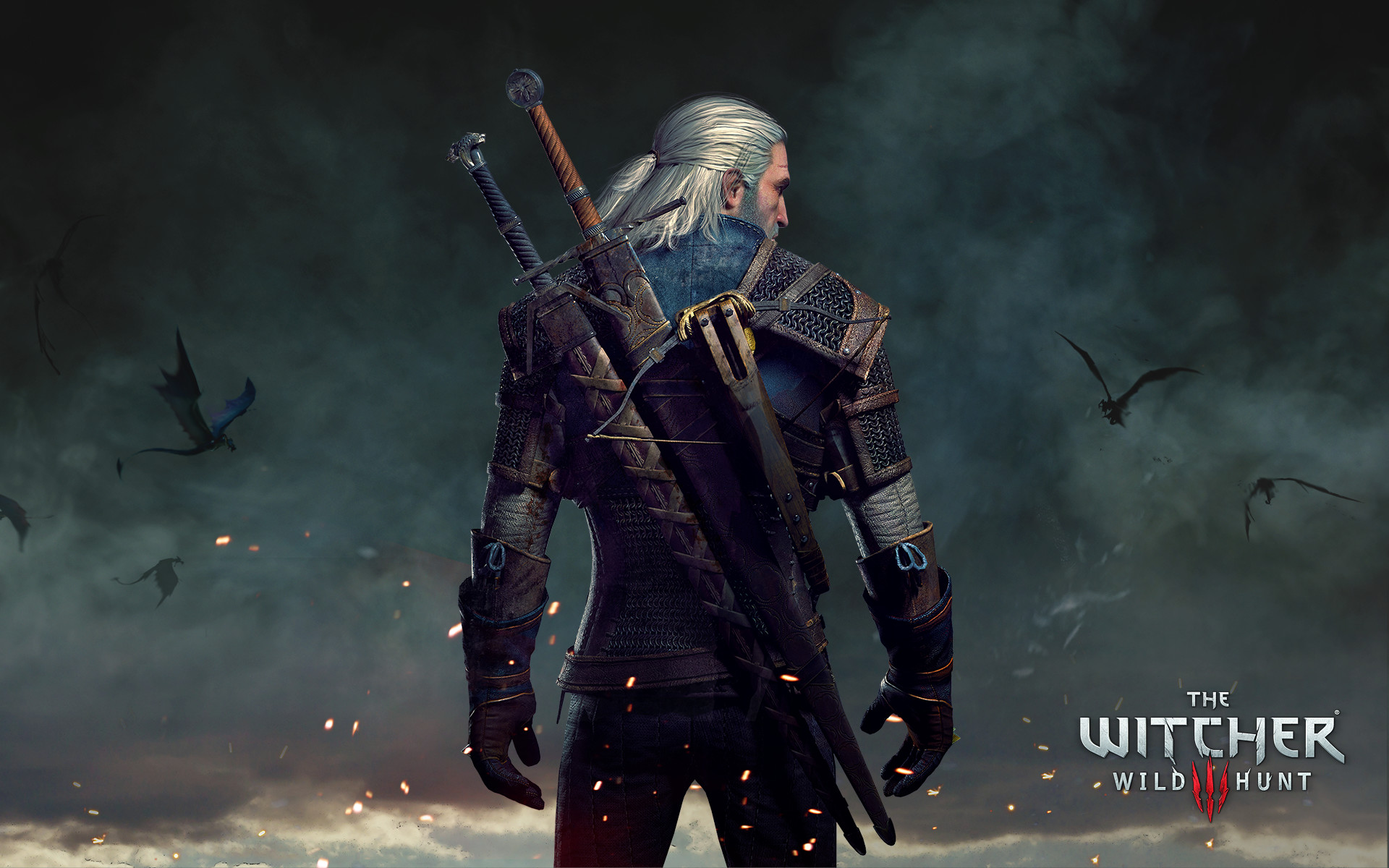 1920x1200 Geralt the witcher 3 wild hunt wide Wallpapers