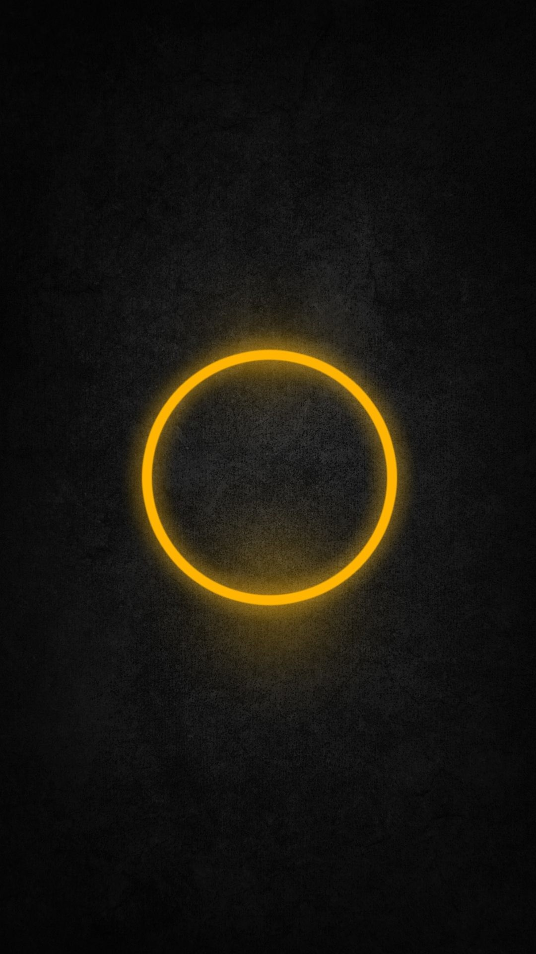 1080x1920 Wallpaper full hd 1080 x 1920 smartphone yellow circle abstract