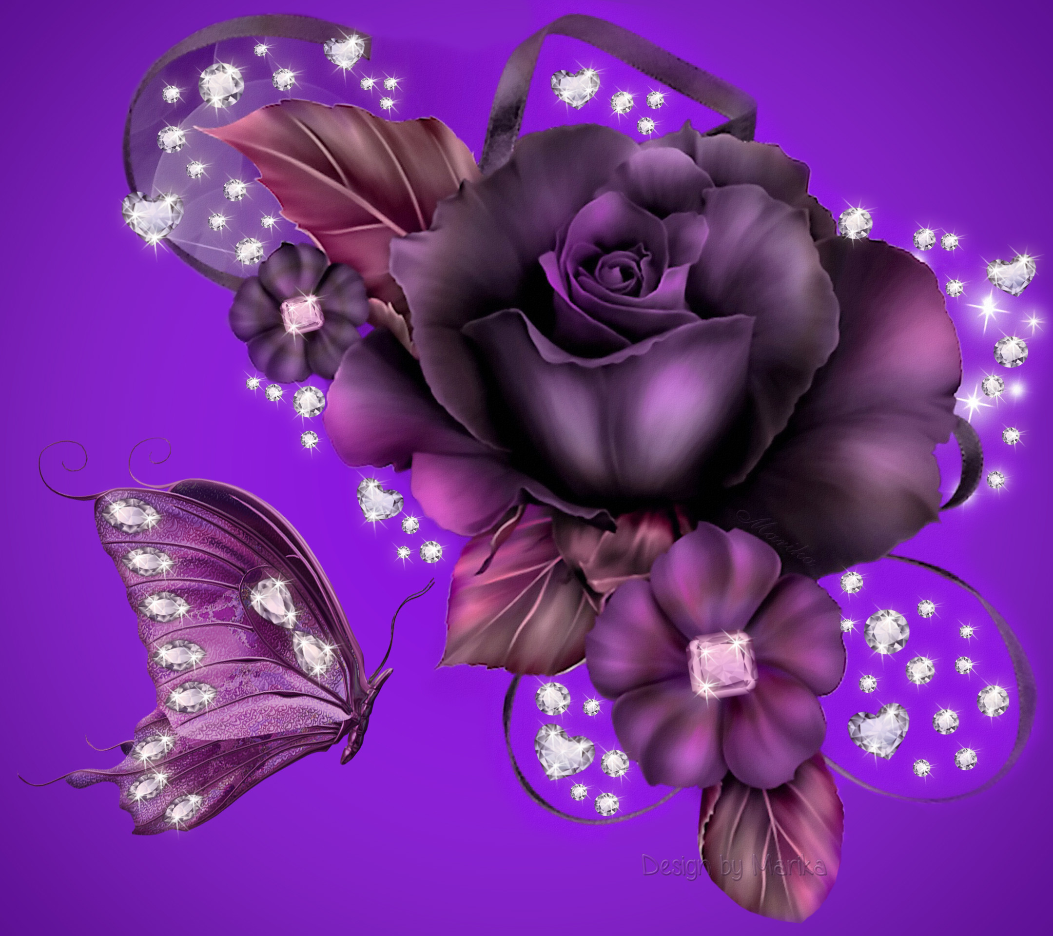 2160x1920 Purple Rose Background Wallpaper | Purple Rose Desktop Background HD  wallpapers