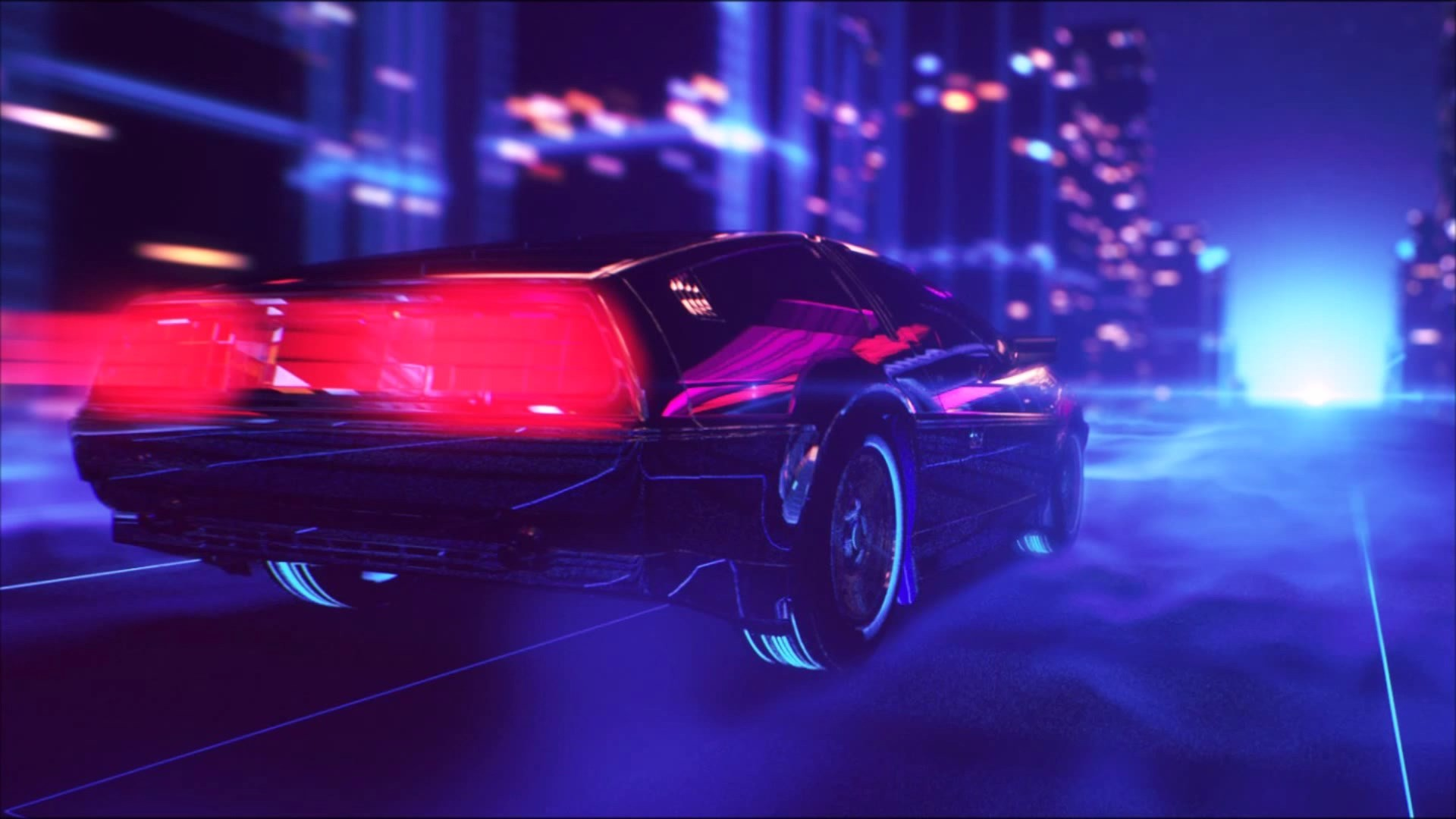 Synthwave Wallpaper (80+ images)