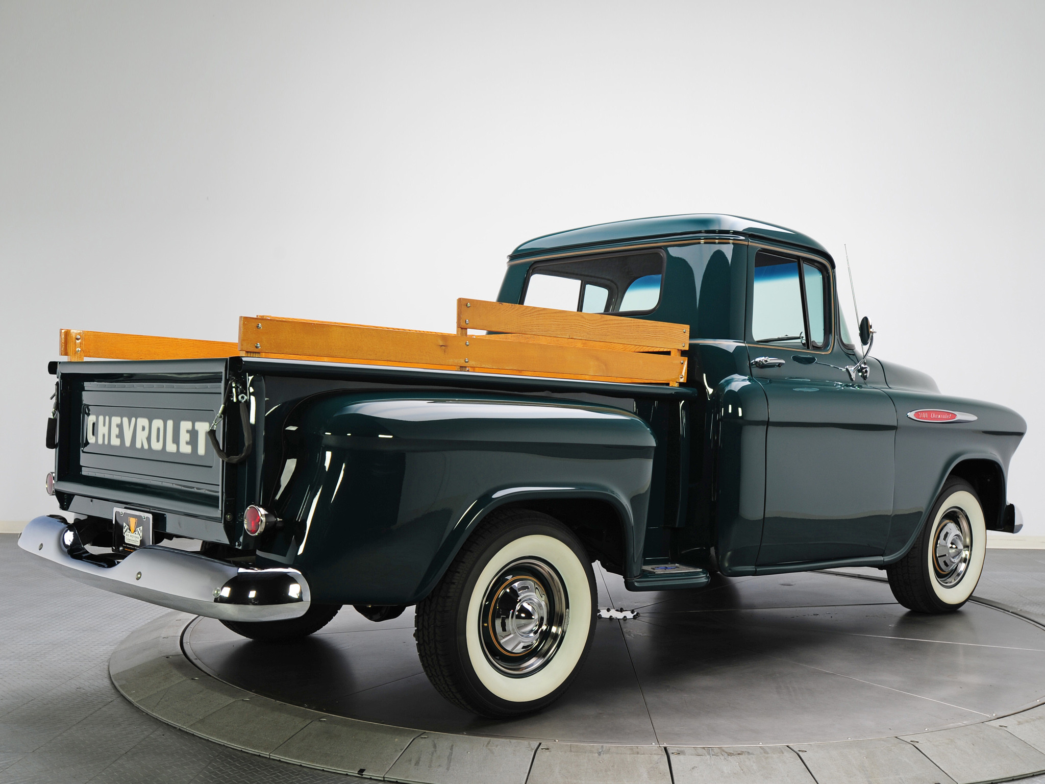 2048x1536 1957 chevy 4400 truck | Chevrolet 3100 Pickup 1957 Wallpapers