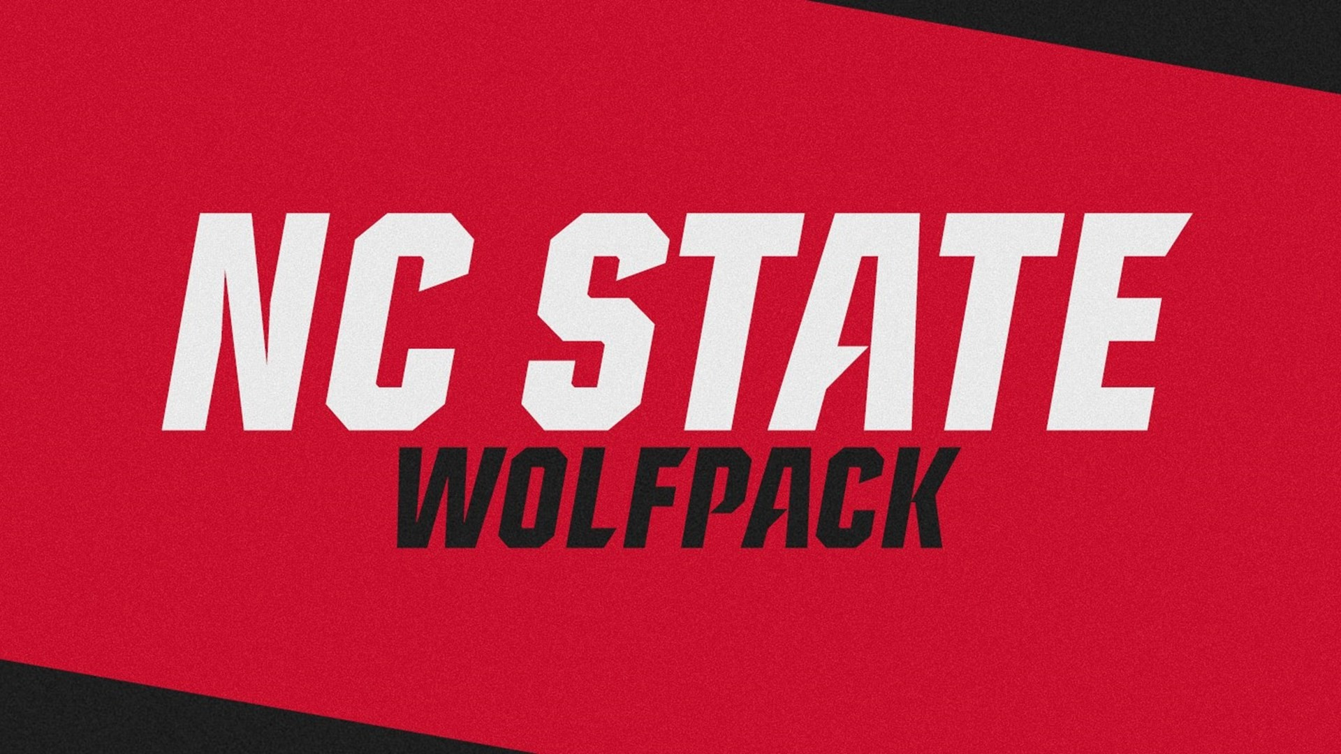 1920x1080 NC State Athletics Releases New Word Marks and Customized Wolfpack Font