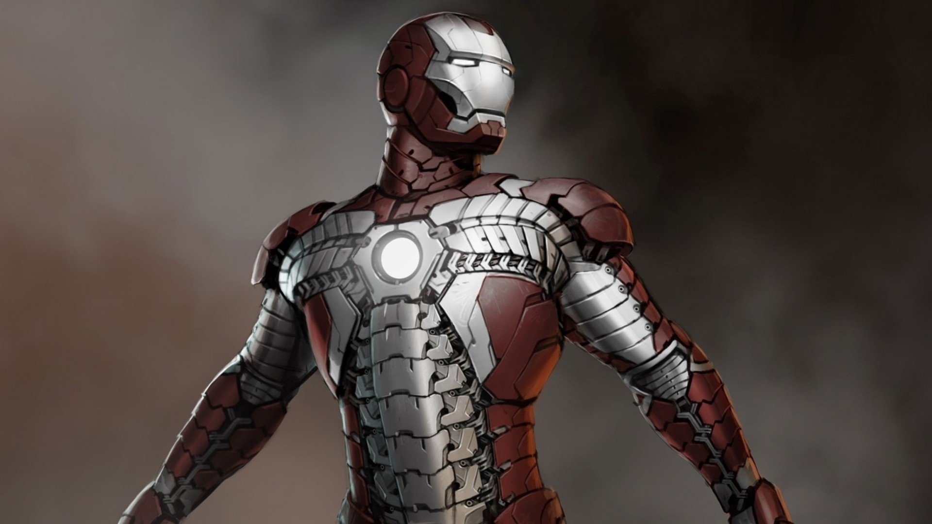 1920x1080  Wallpaper iron man, concept art, artwork, marvel comics