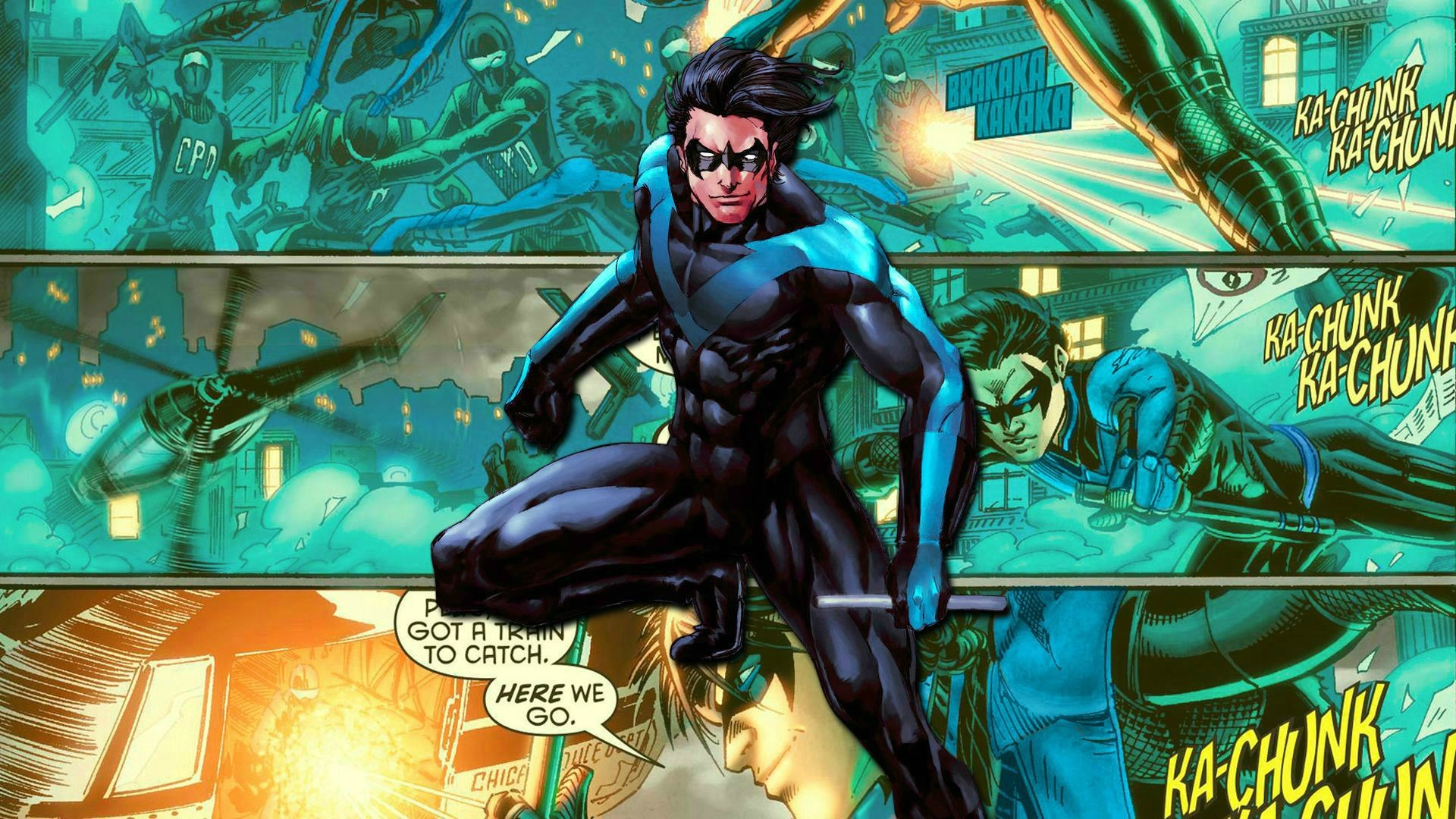 1920x1080 New Nightwing Wallpaper | HD Wallpapers | Pinterest | Wallpaper, Hd  wallpaper and deviantART