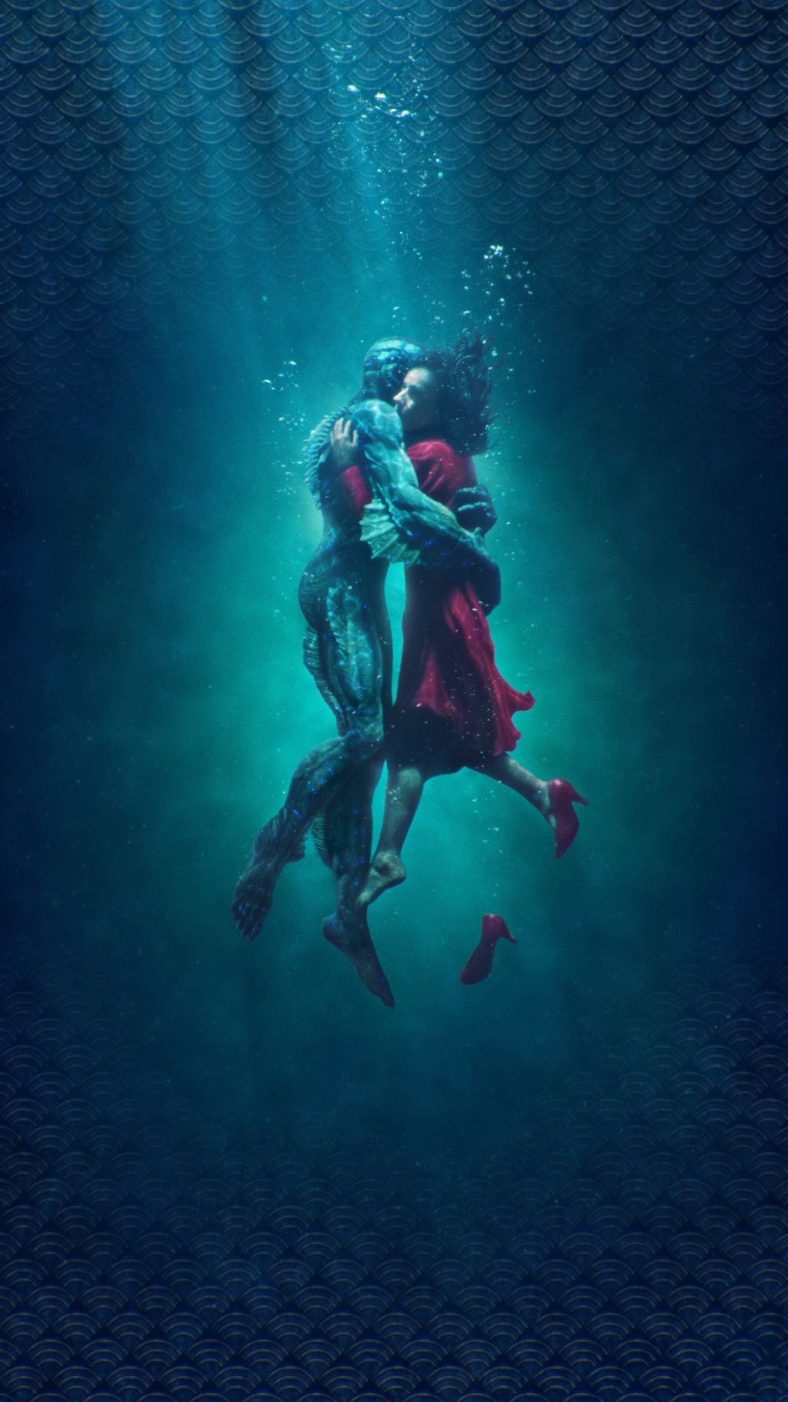 1536x2732 The Shape of Water (2017) Phone Wallpaper | Moviemania #scubadiverart