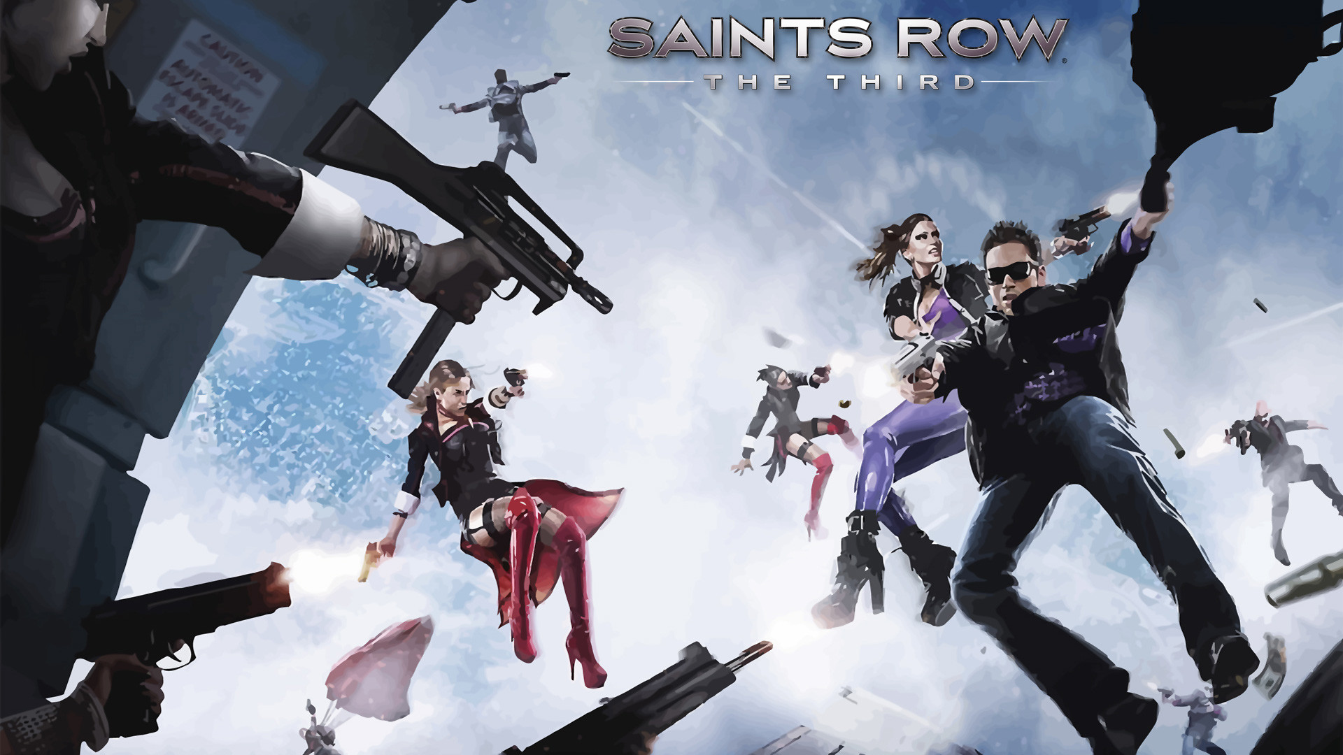 1920x1080 Saints Row The Third Wallpaper
