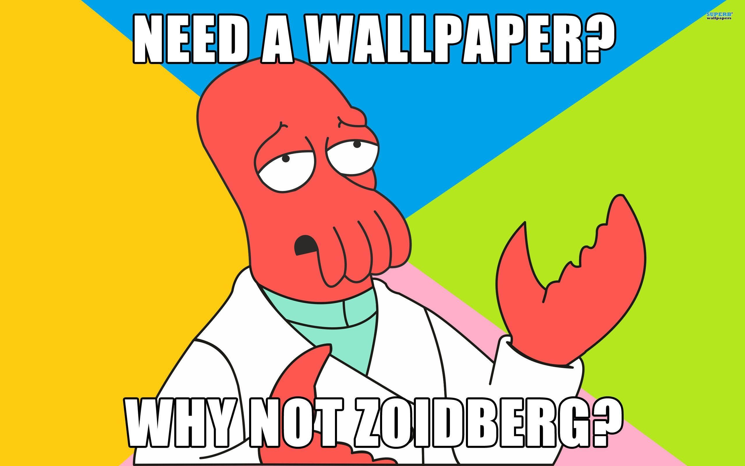 2560x1600 Zoidberg wallpaper - 286113
