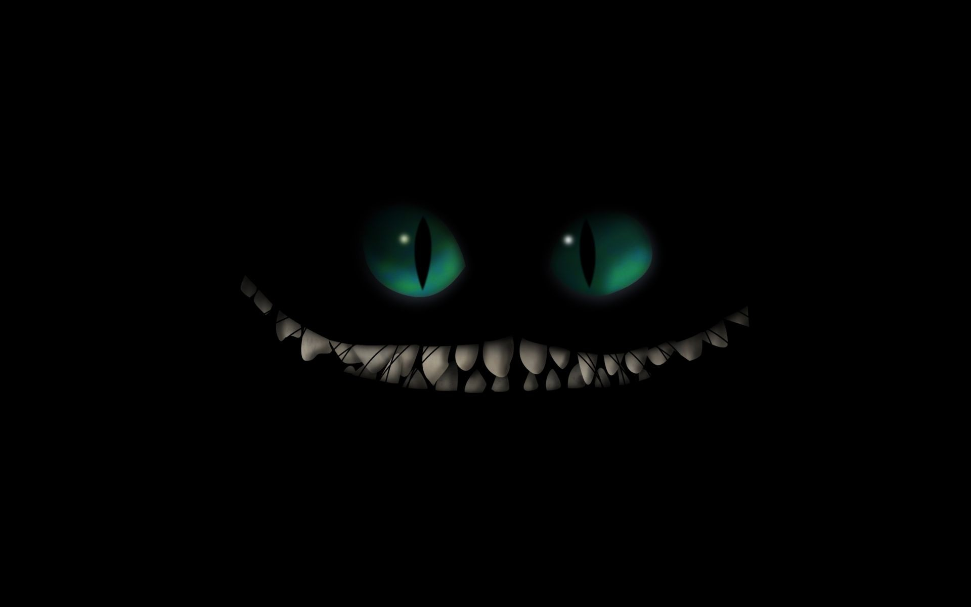 1920x1200 Dark monster creature fangs evil scary creepy spooky halloween .
