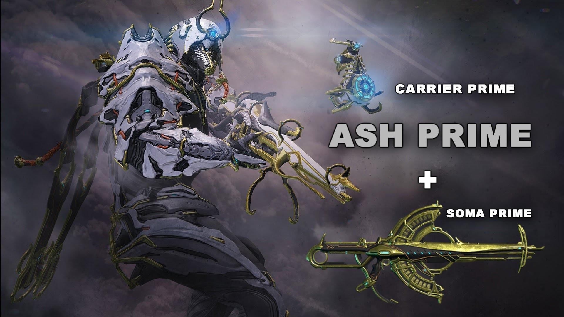 Ash Prime Warframe 48046