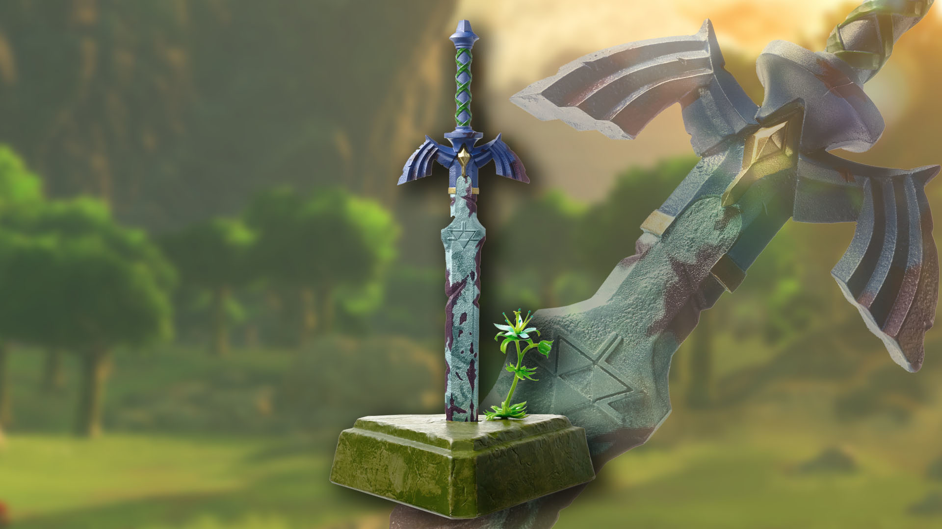 1920x1080 Detailed look at upcoming Master Sword statue coming to Breath of the Wild  Master Edition | Nintendo Wire